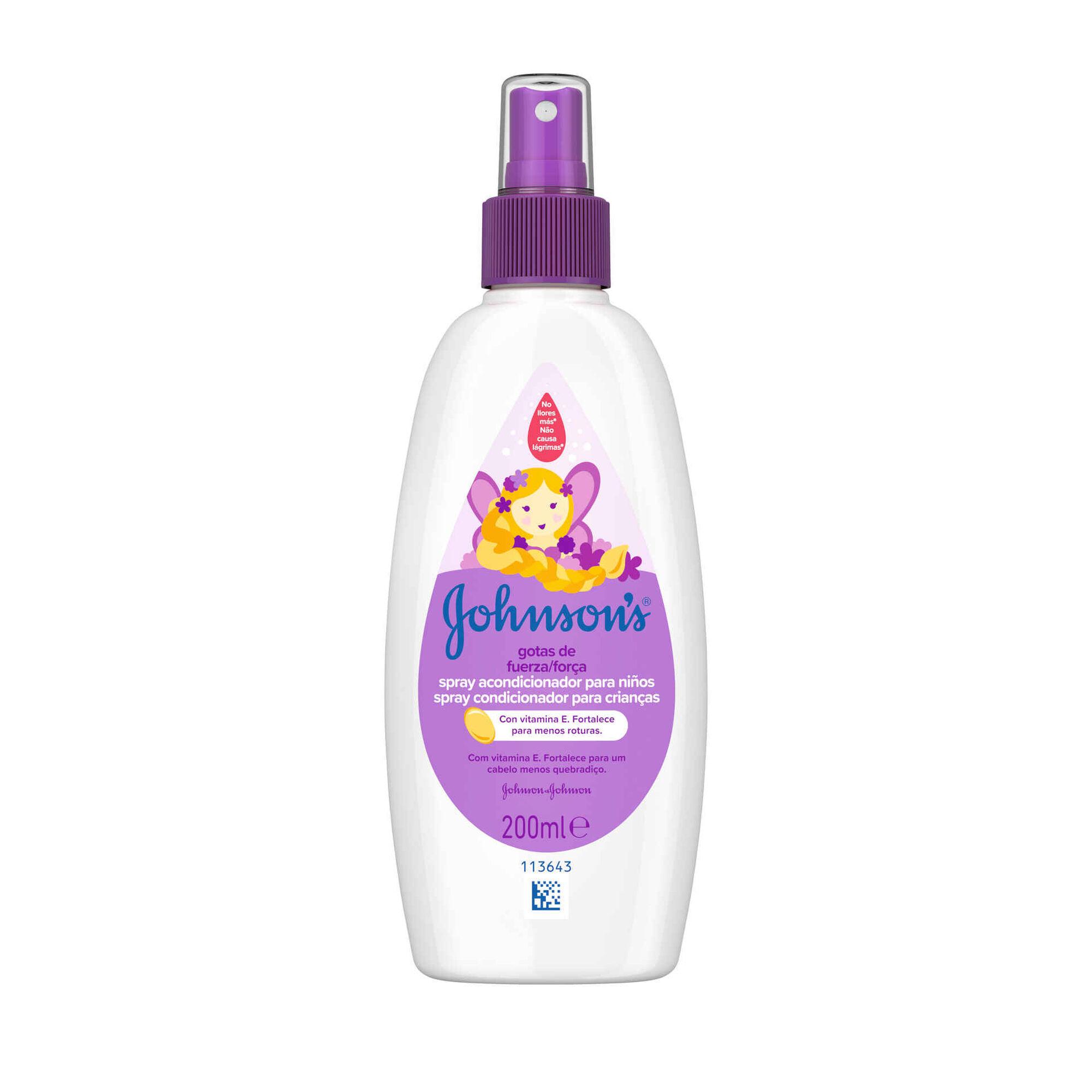 Condicionador Spray Gotas de Força para Crianças
