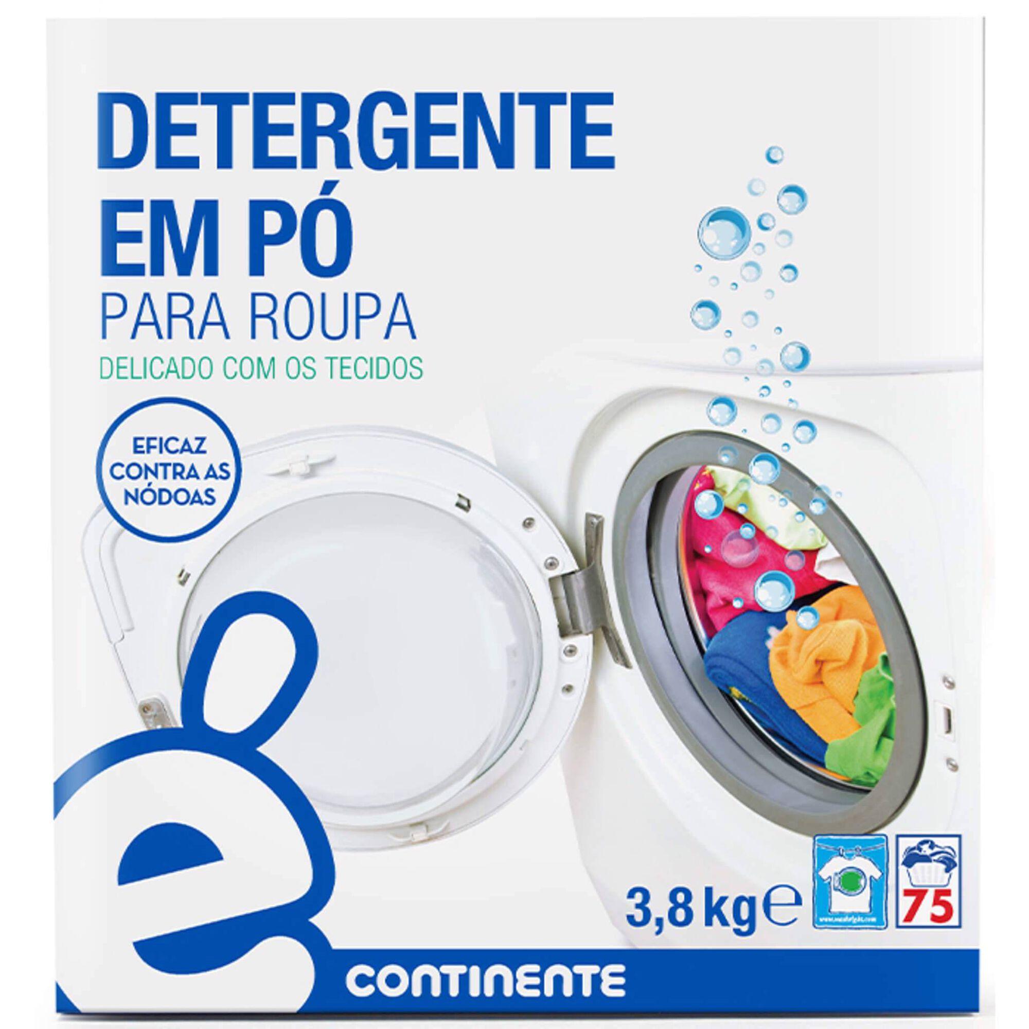 Detergente Máquina Roupa Pó