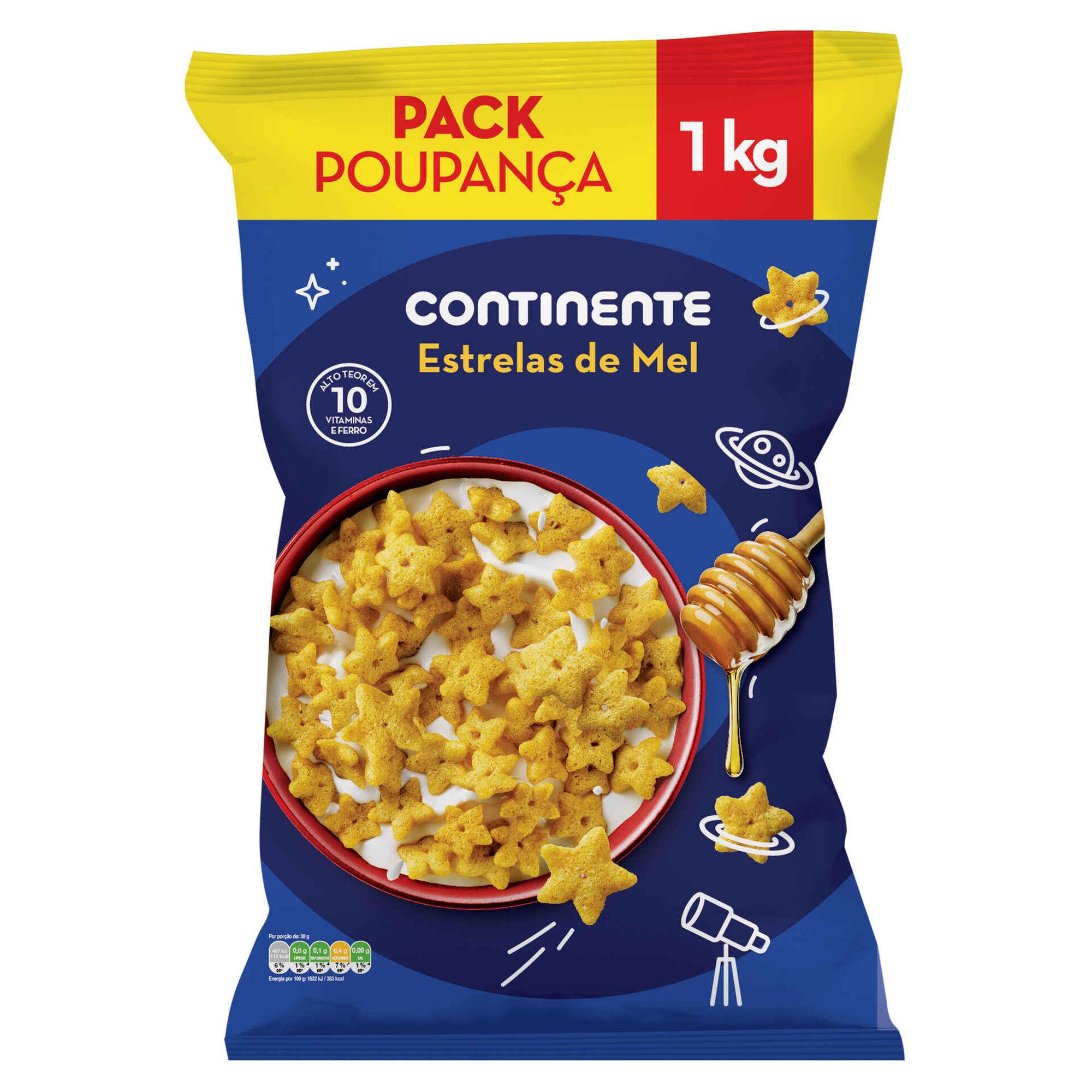 Cereais Estrelas de Mel Pack Poupança