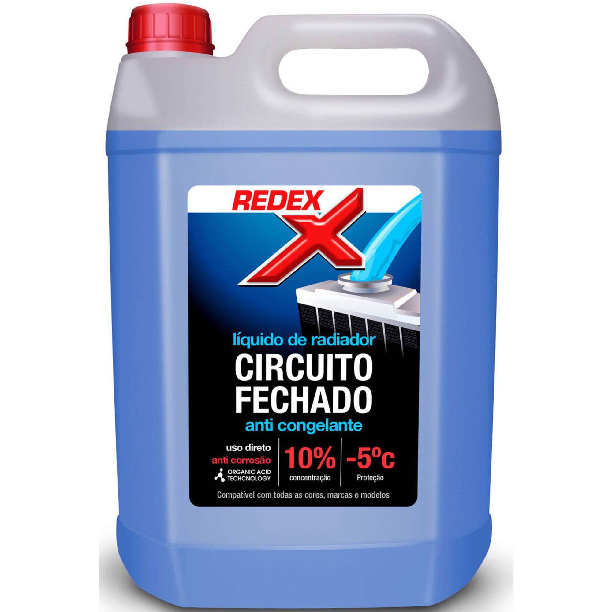 Líquido Radiador -5°C Azul 5L