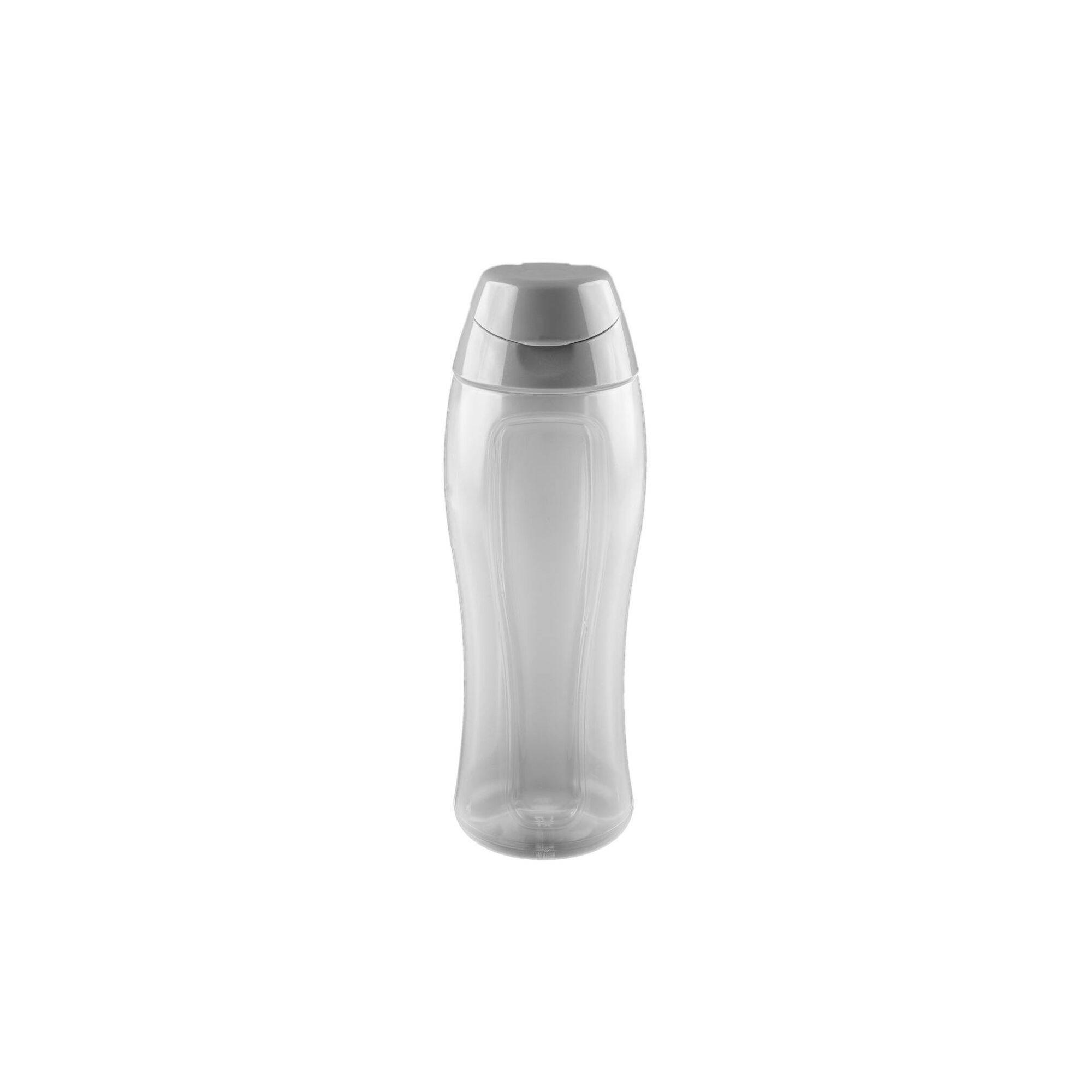 Garrafa Plástico 800ml Cinza Essencial