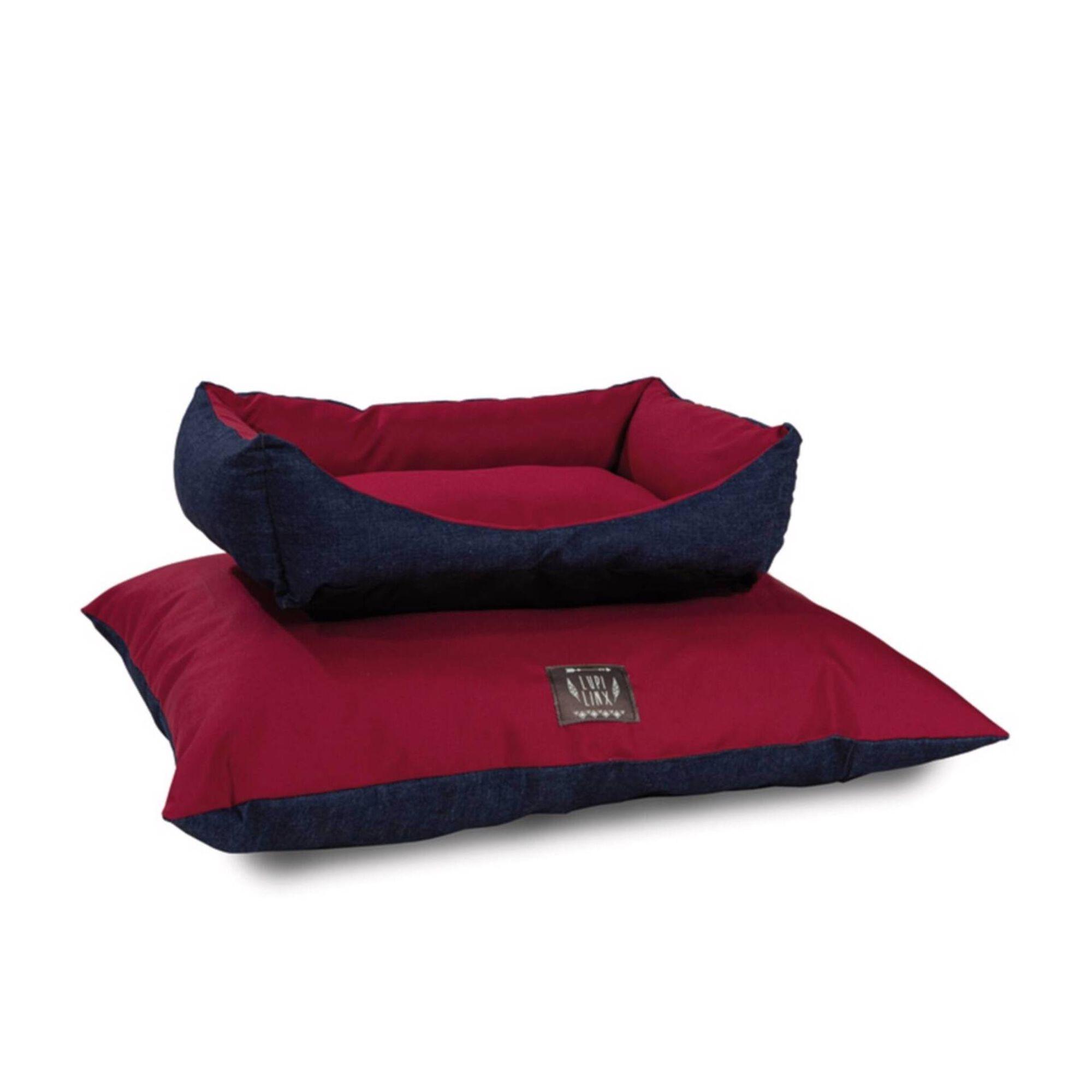 Cama Sofá para Cão Oval Denim S/M