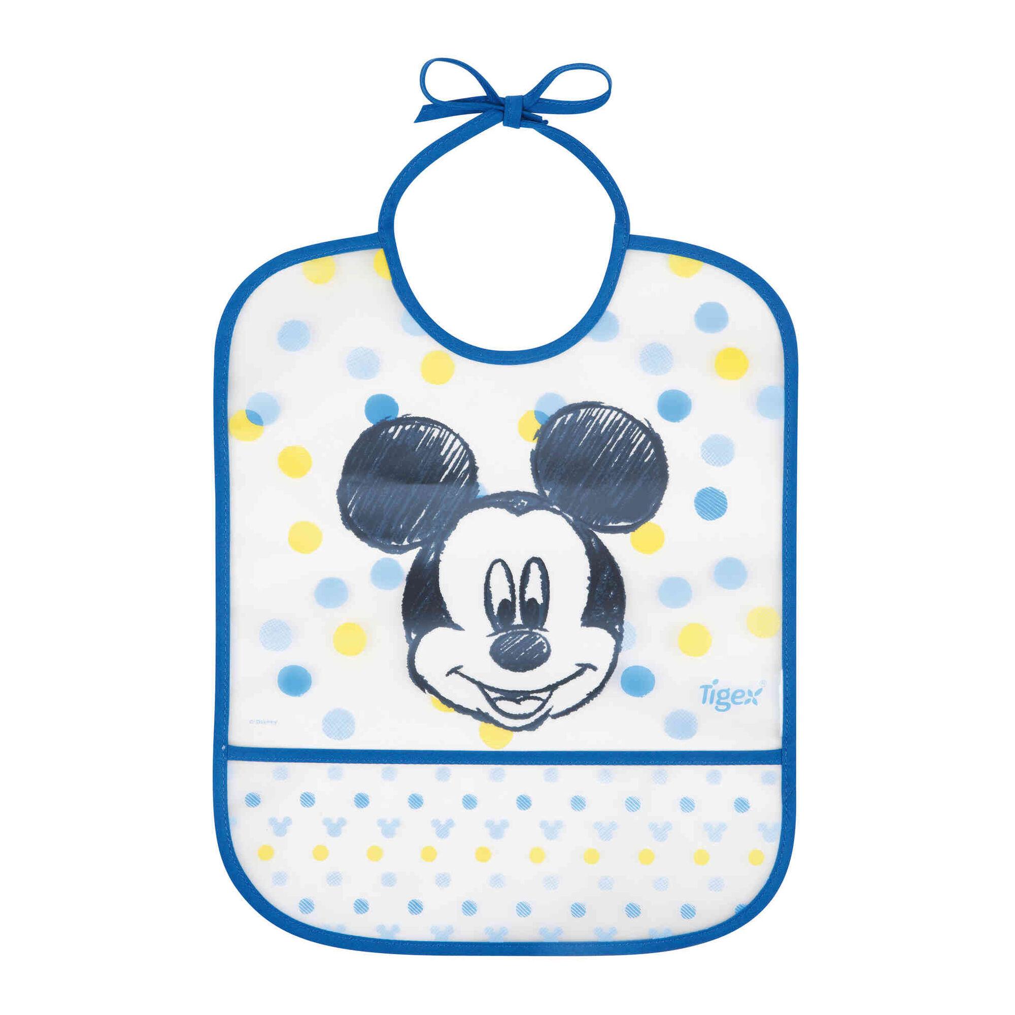 Babete Impermeável +12M Mickey