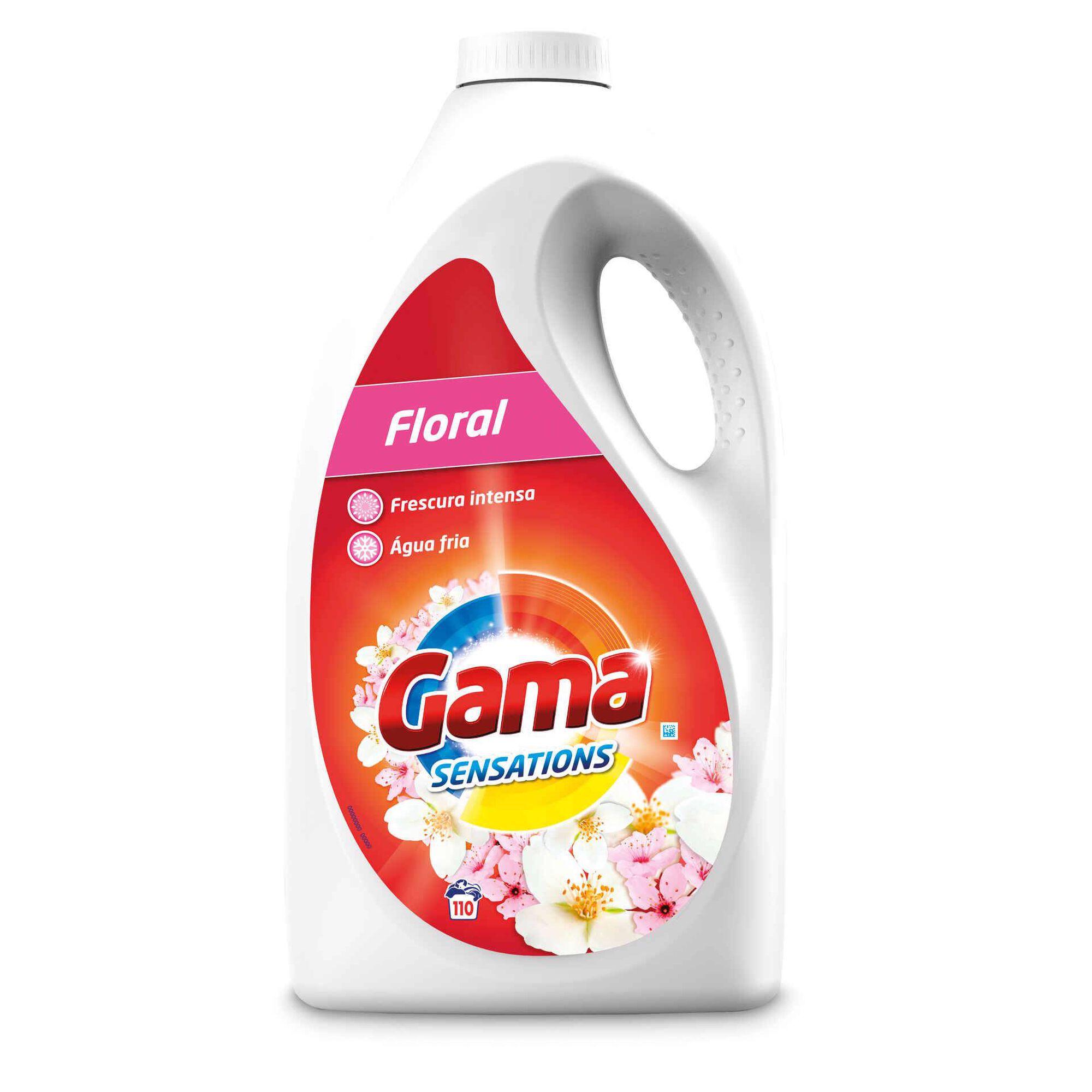 Detergente Máquina Roupa Líquido Floral