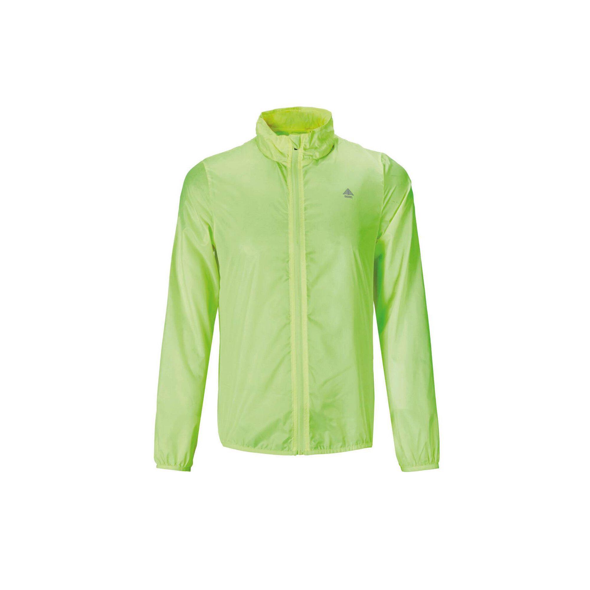 Casaco Corta-vento Homem Verde, Verde Fluorescente, hi-res