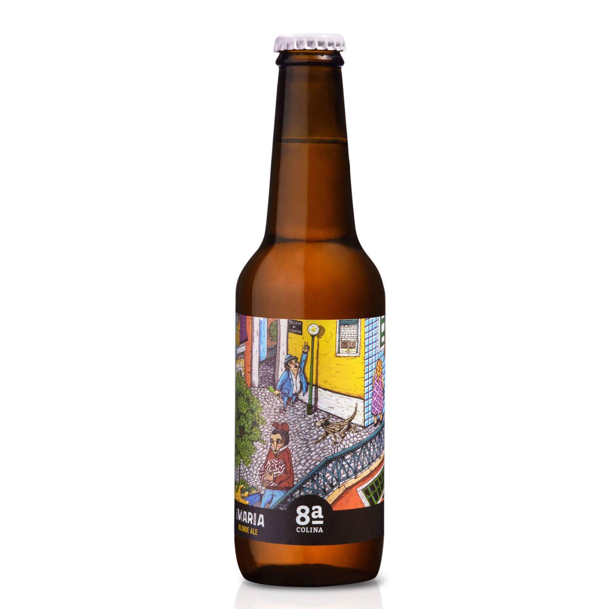 Cerveja com Álcool Vila Maria Garrafa