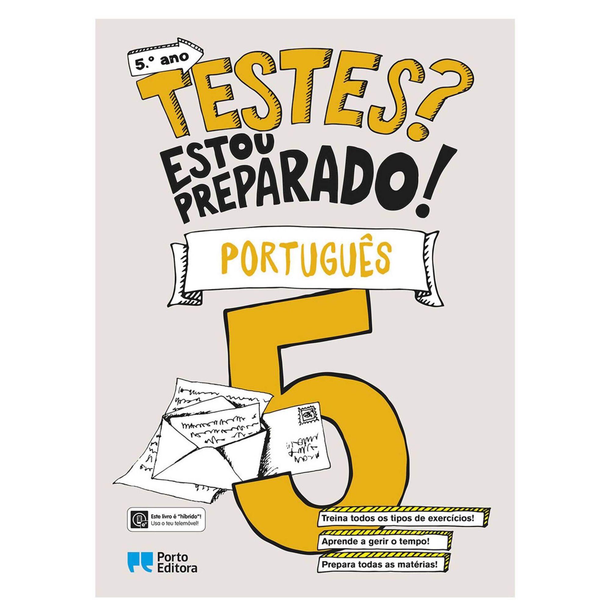 Testes? Estou Preparado! - Português - 5º Ano