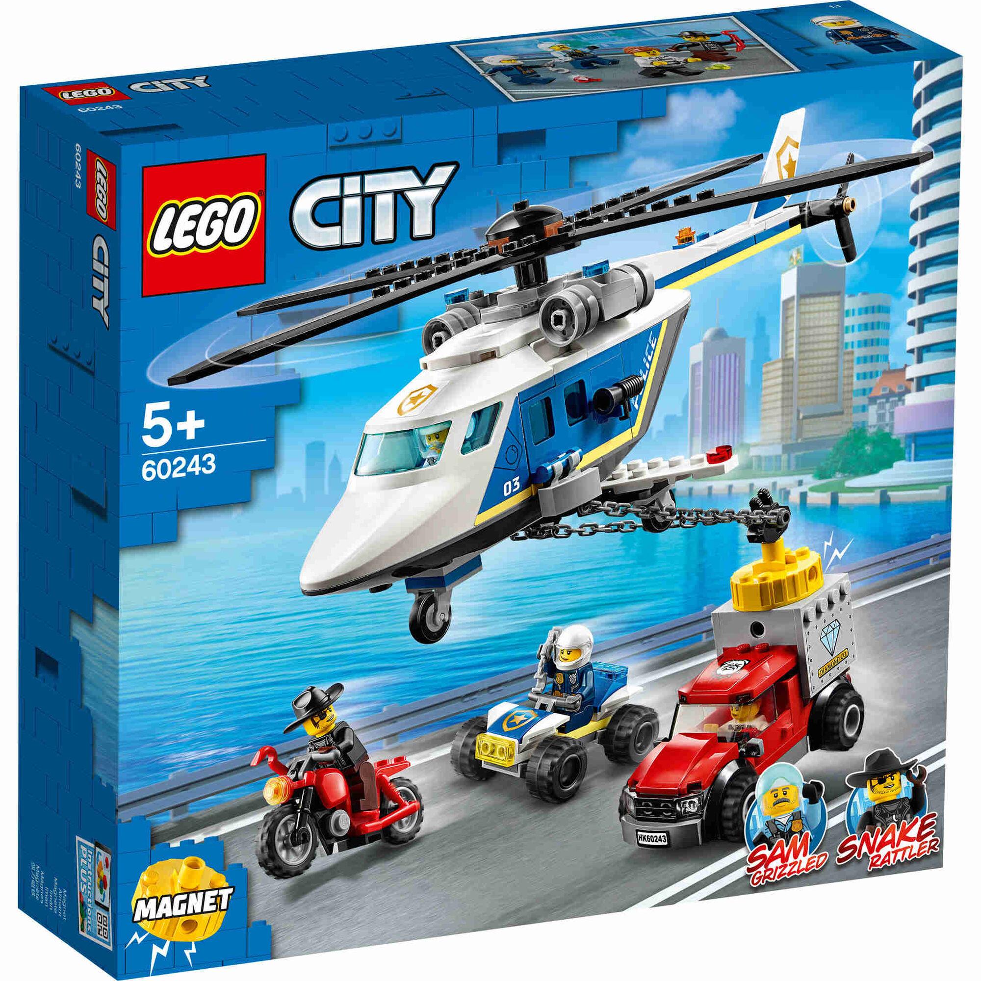 Perseguição Policial de Helicóptero - 60243