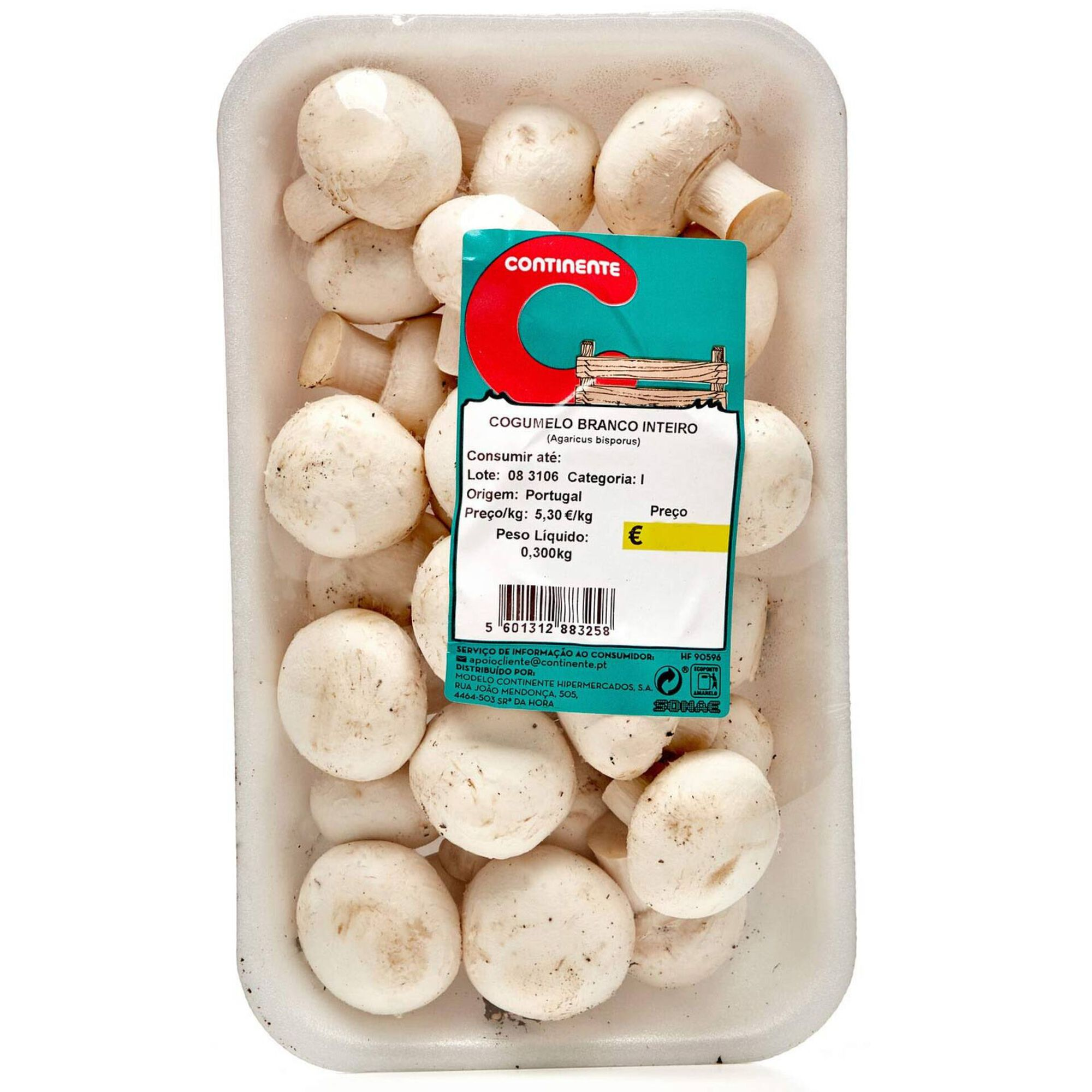 Cogumelo Branco Inteiro