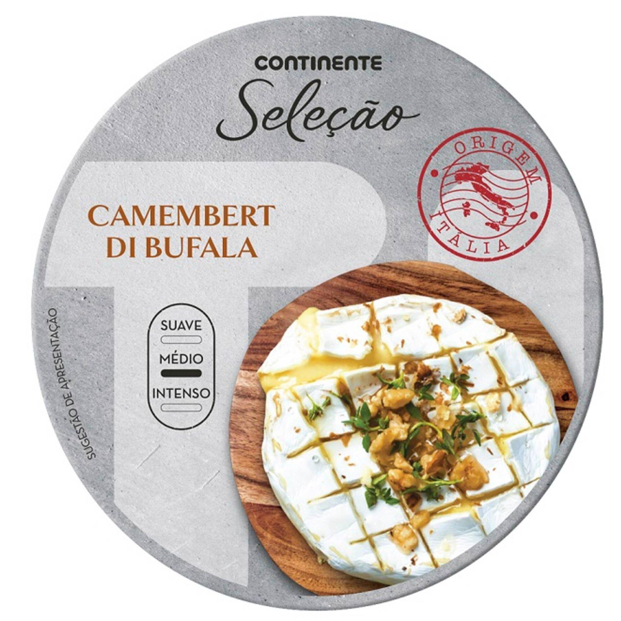 Queijo Camembert de Búfala