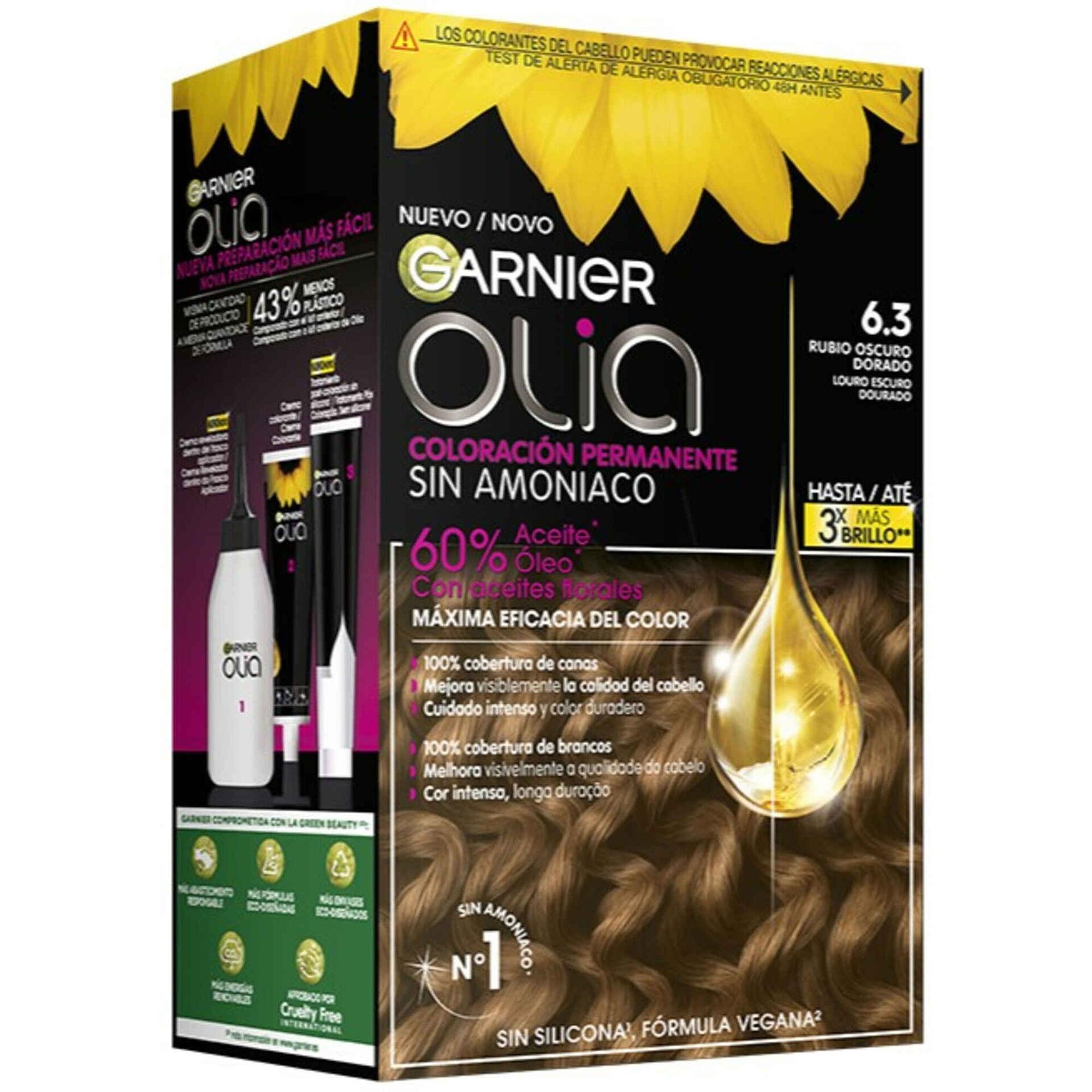 Coloração Permanente Olia Louro Escuro Dourado 6.3
