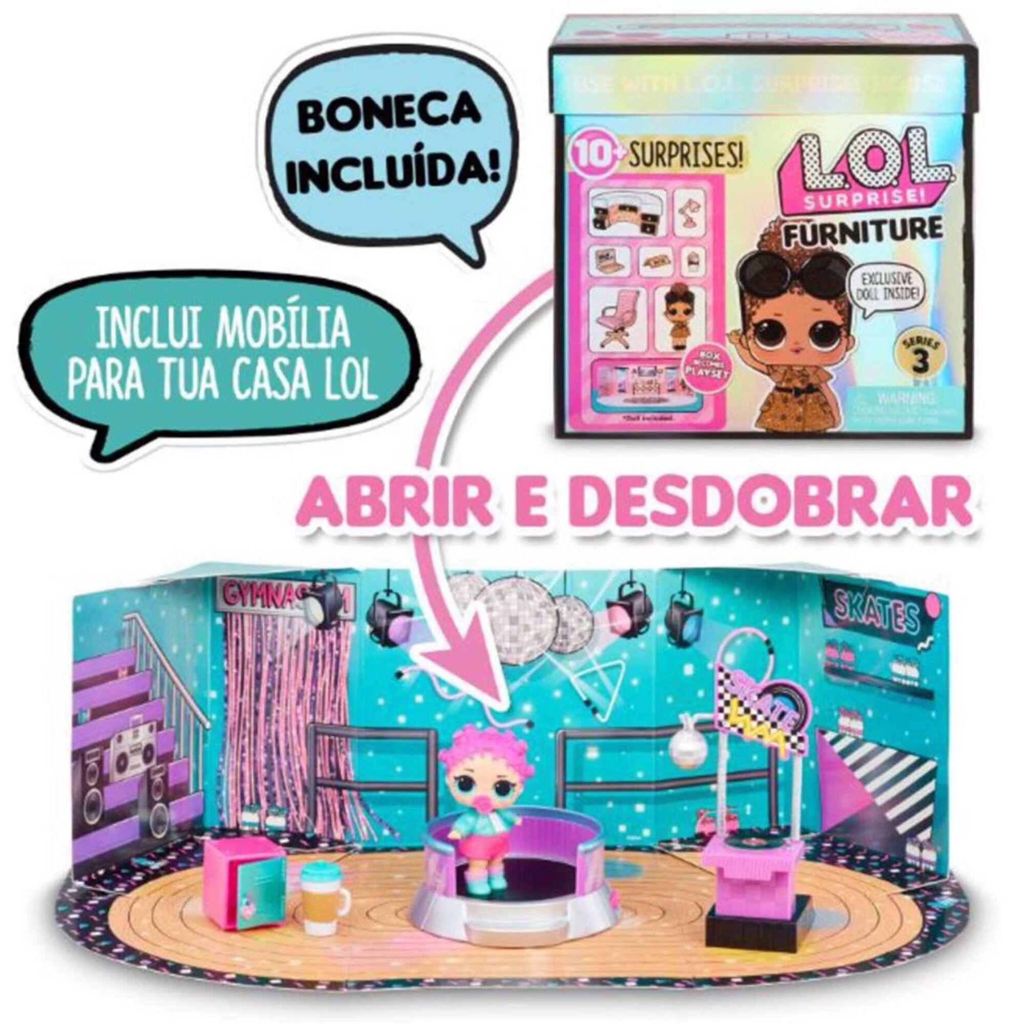 Boneca L.O.L. Surprise! e Furniture Pack (vários modelos)