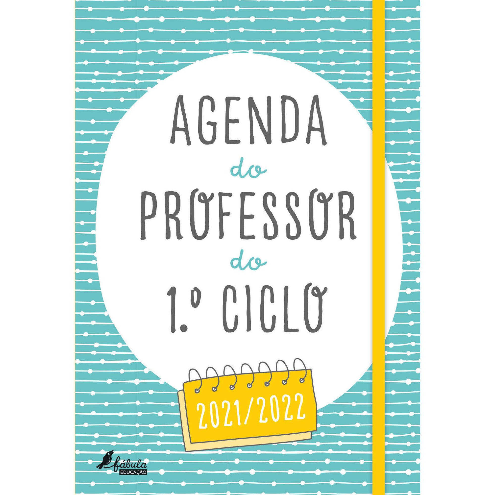 Agenda do Professor do 1º Ciclo 2021/2022