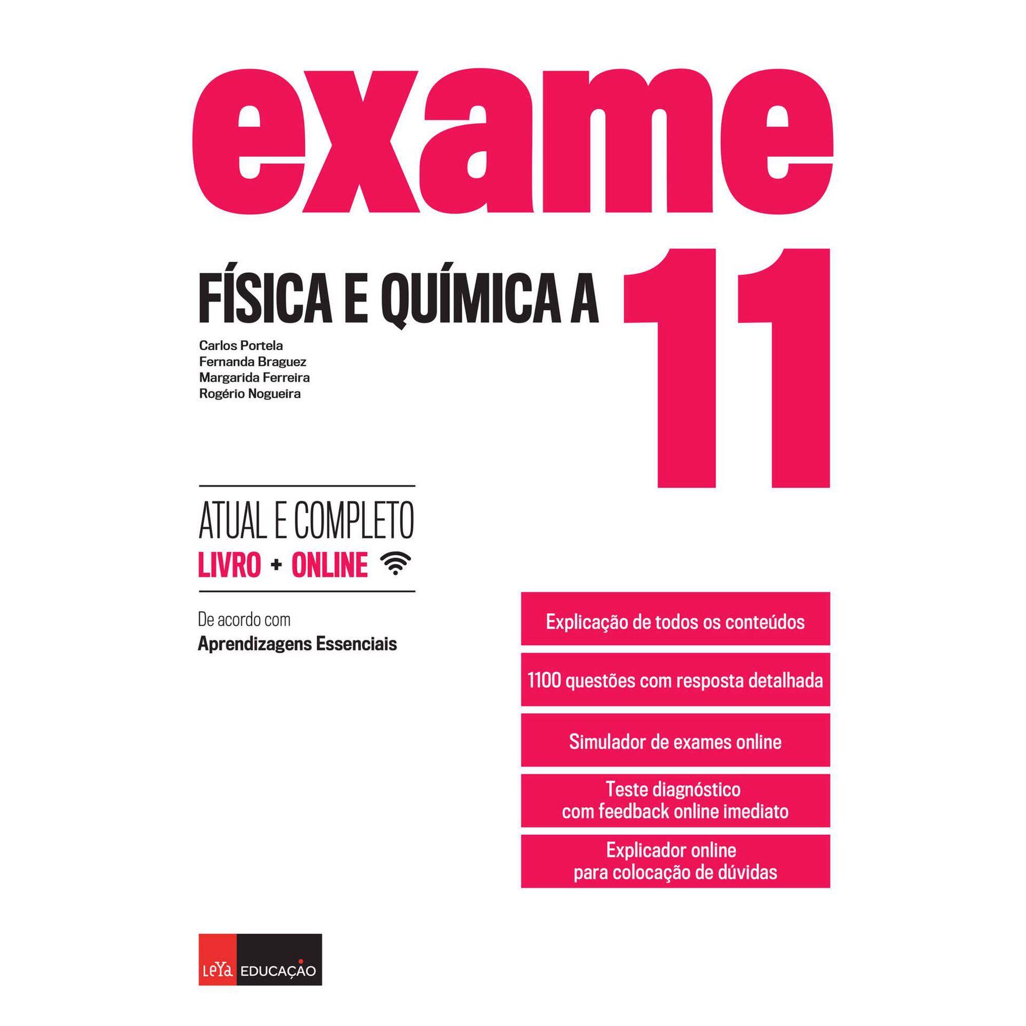 Exame - Física e Química A - 11º Ano
