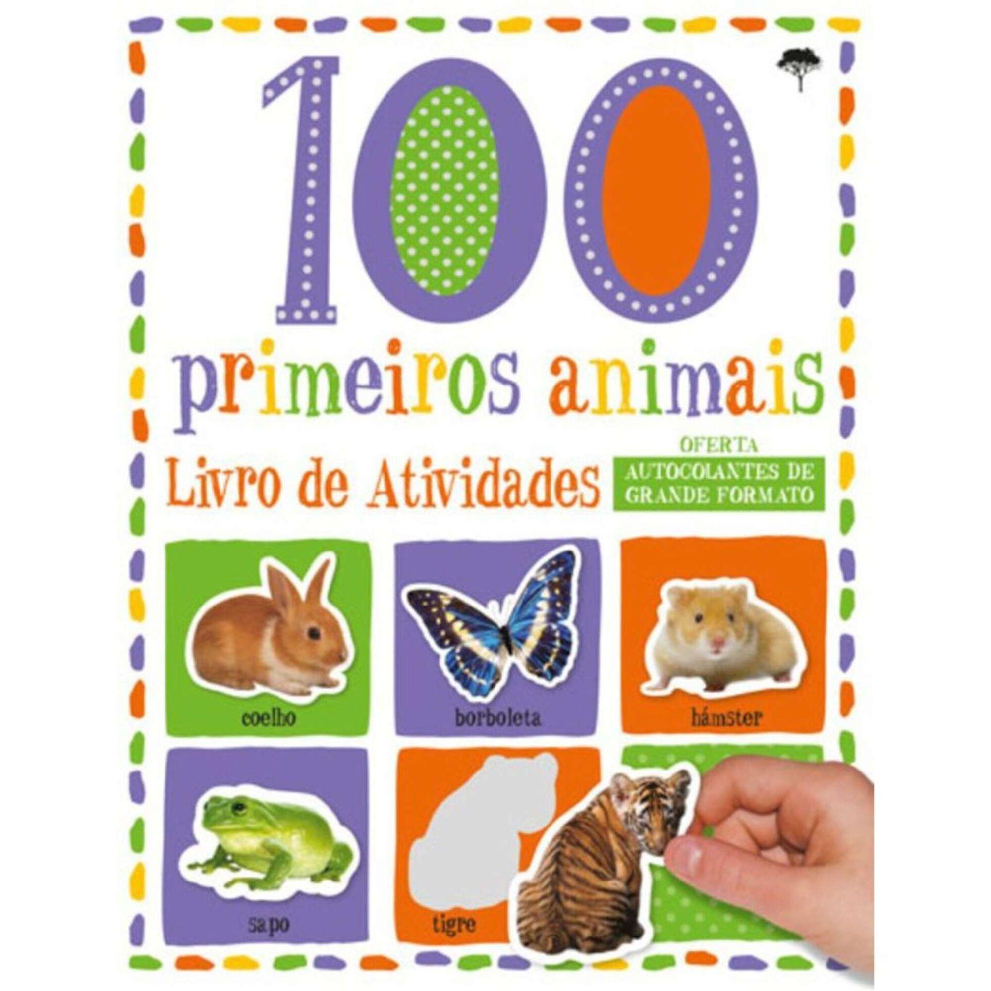Livro de Atividades - 100 Primeiros Animais