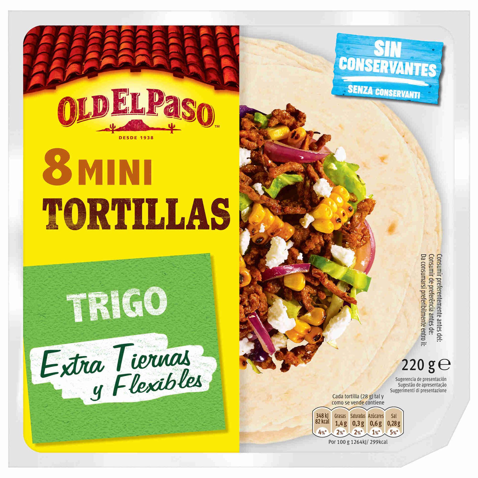 Mini Tortilhas de Trigo