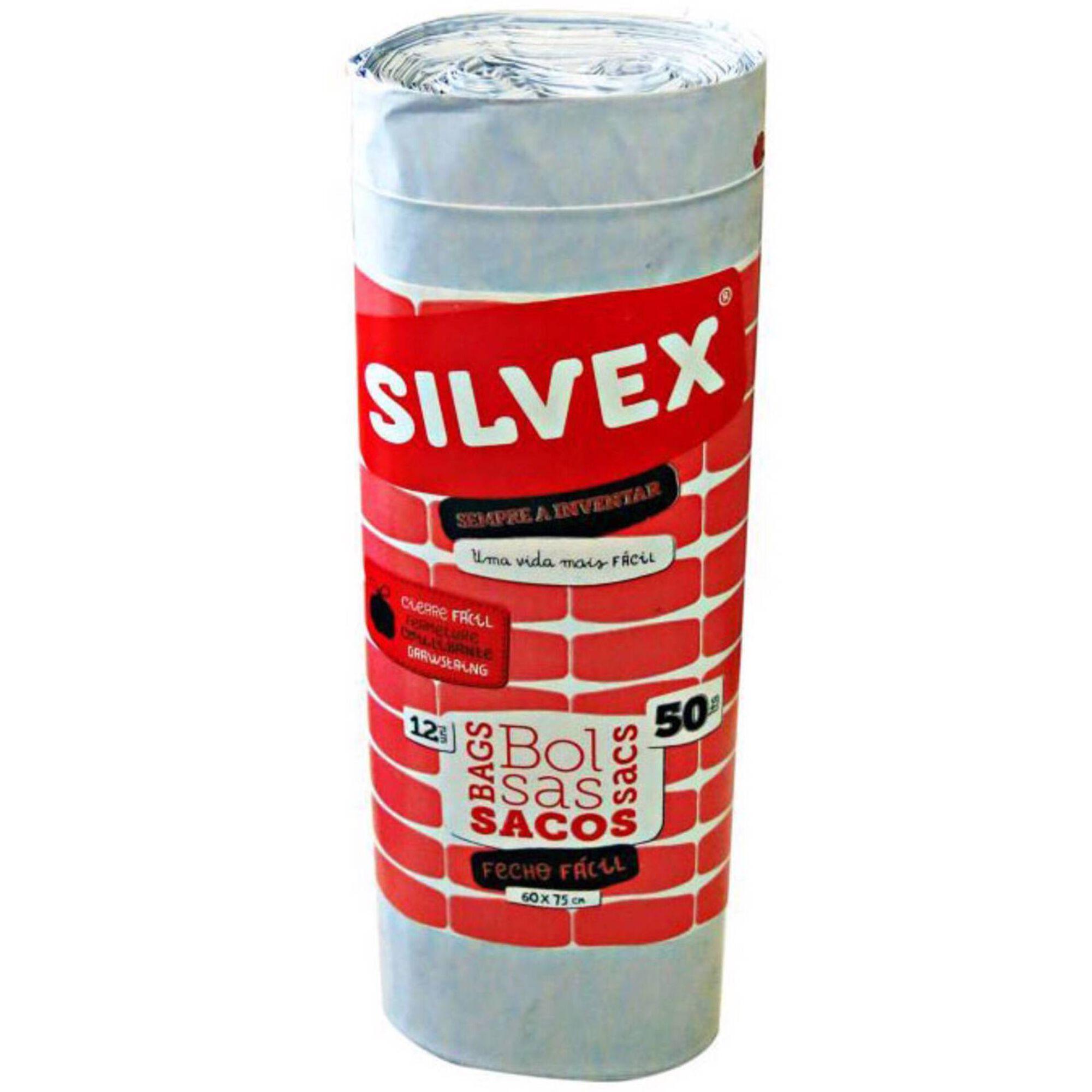 Sacos Lixo Fecho Fácil com Atilho 50 lt