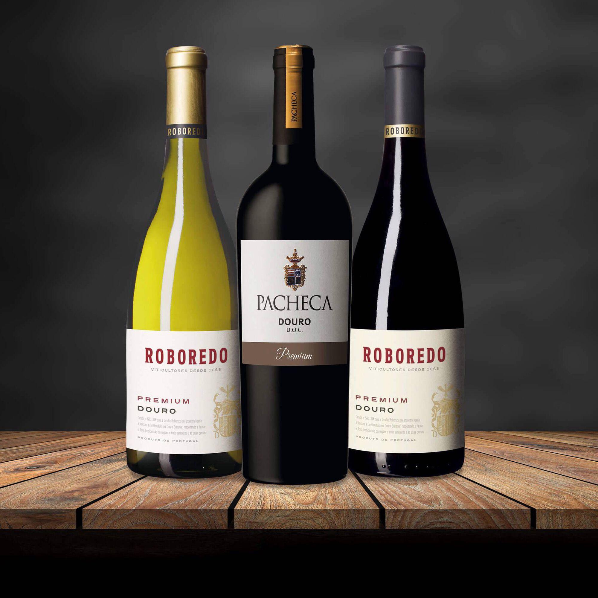 Cabaz de Vinhos Premium