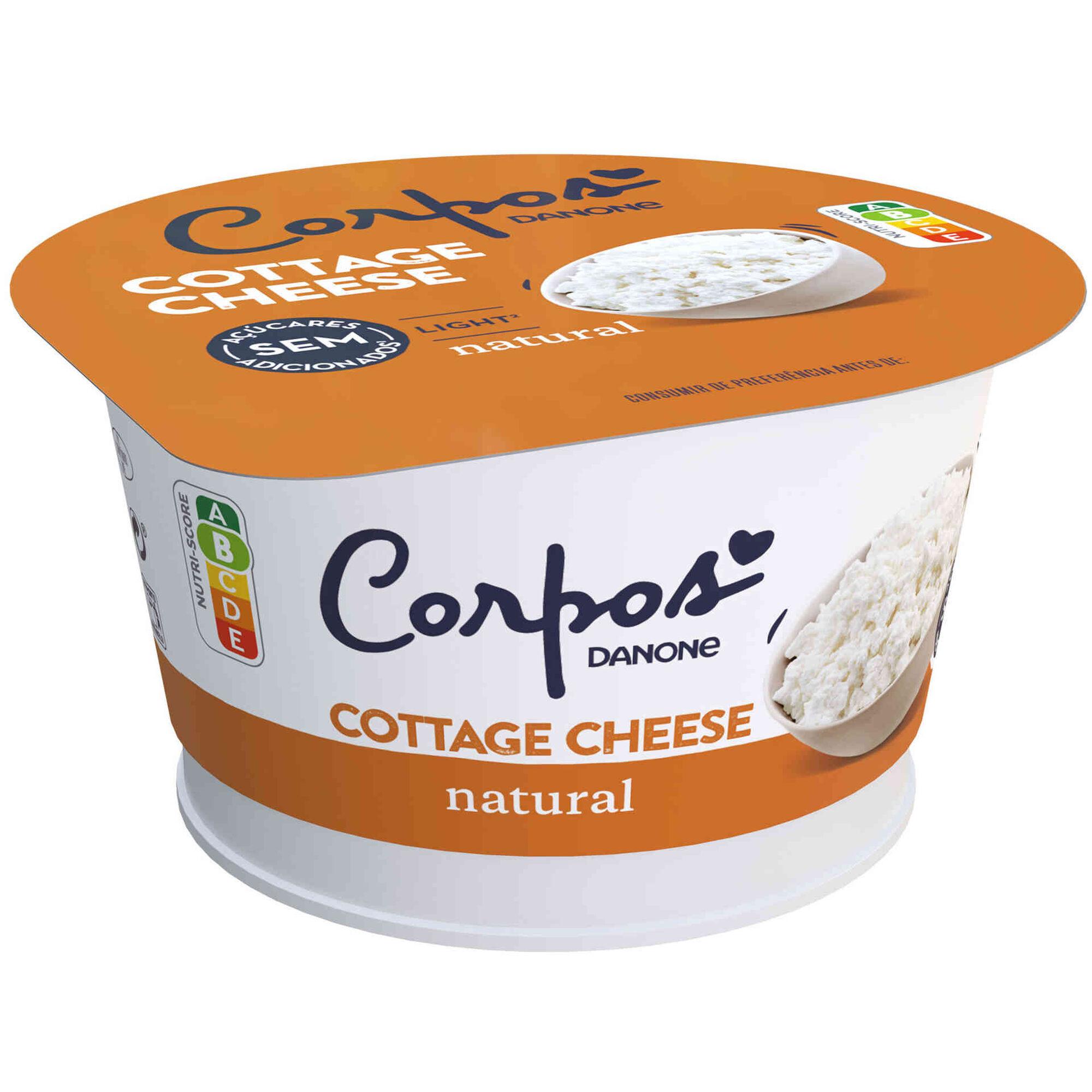 Queijo Cottage Natural Corpos