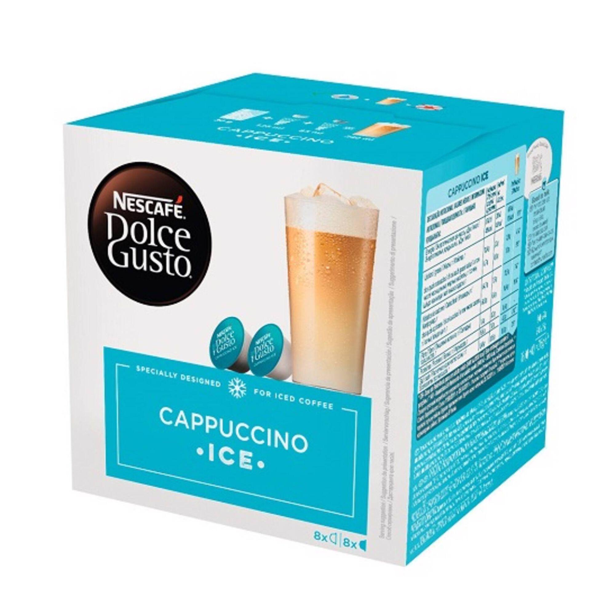 Cápsulas de Café Cappuccino Ice