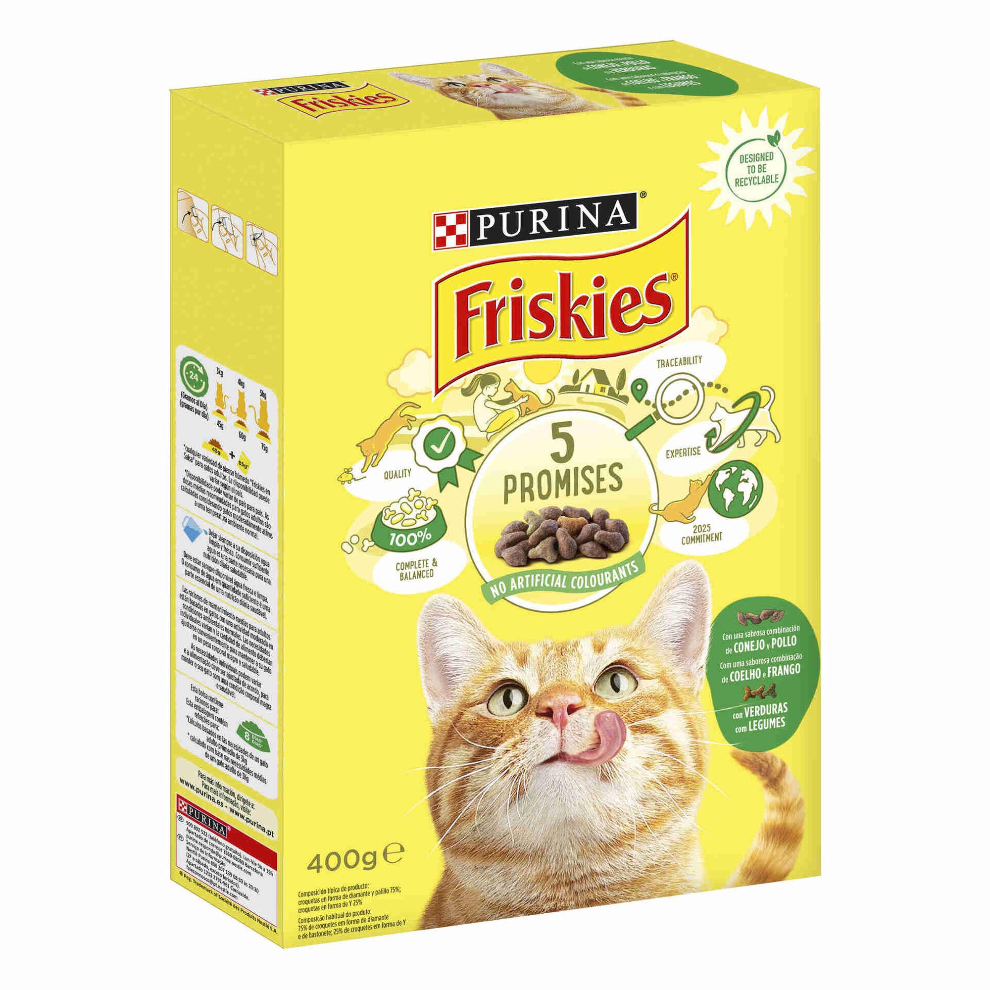 Ração para Gato Adulto Coelho, Frango e Legumes