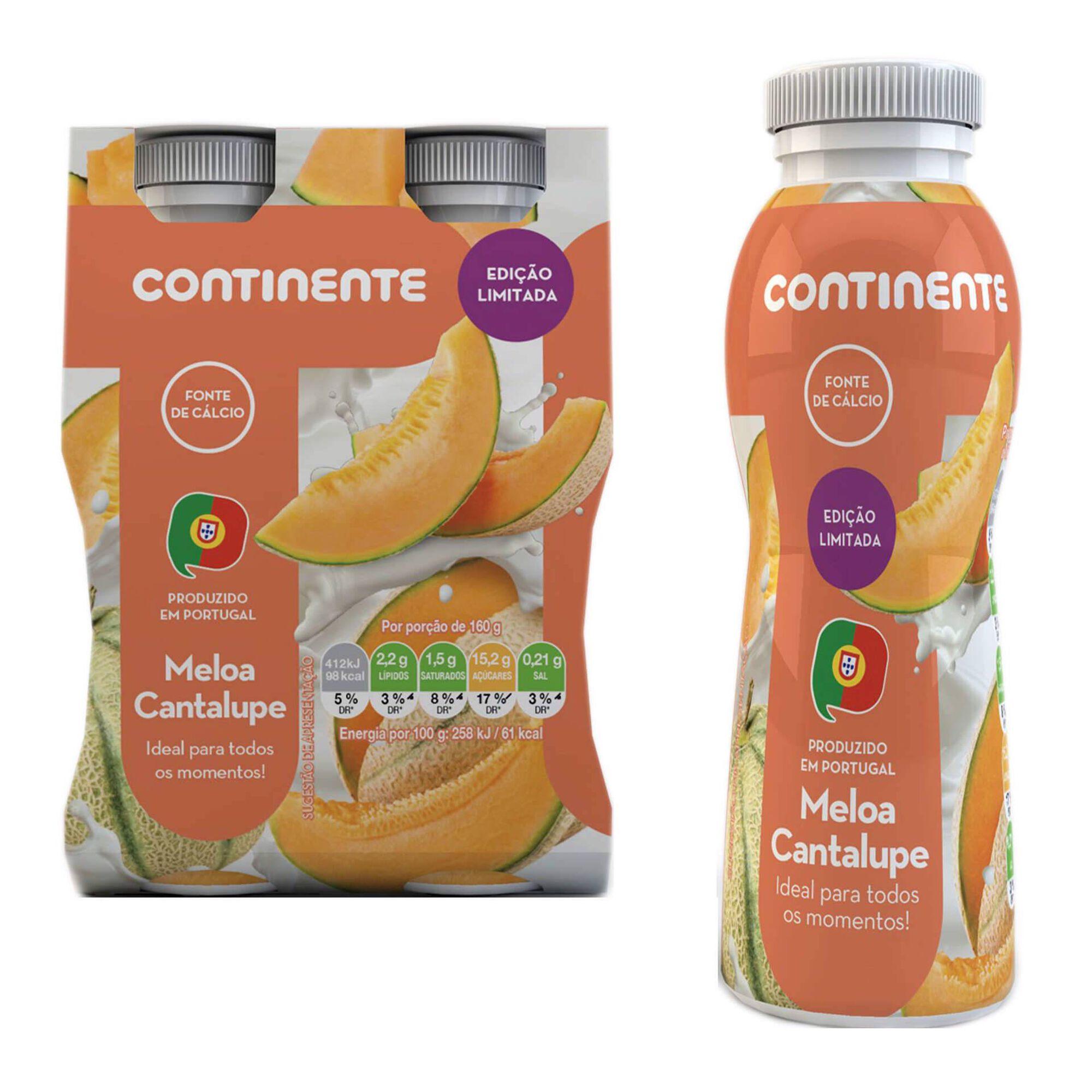Iogurte Líquido Meloa Cantalupe