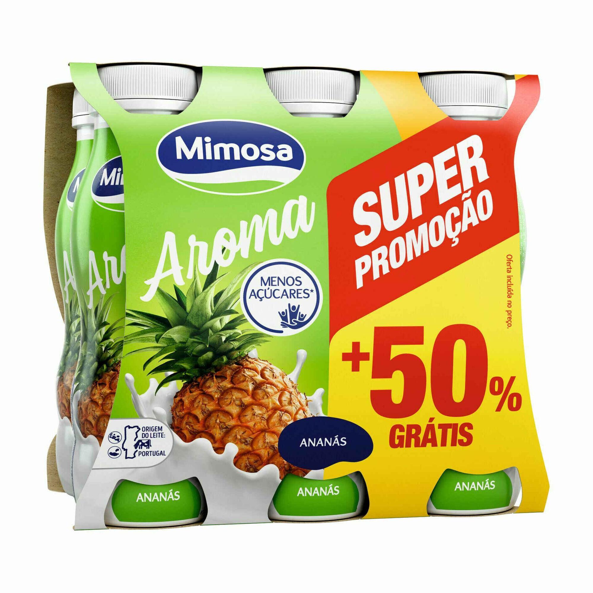 Iogurte Líquido Ananás