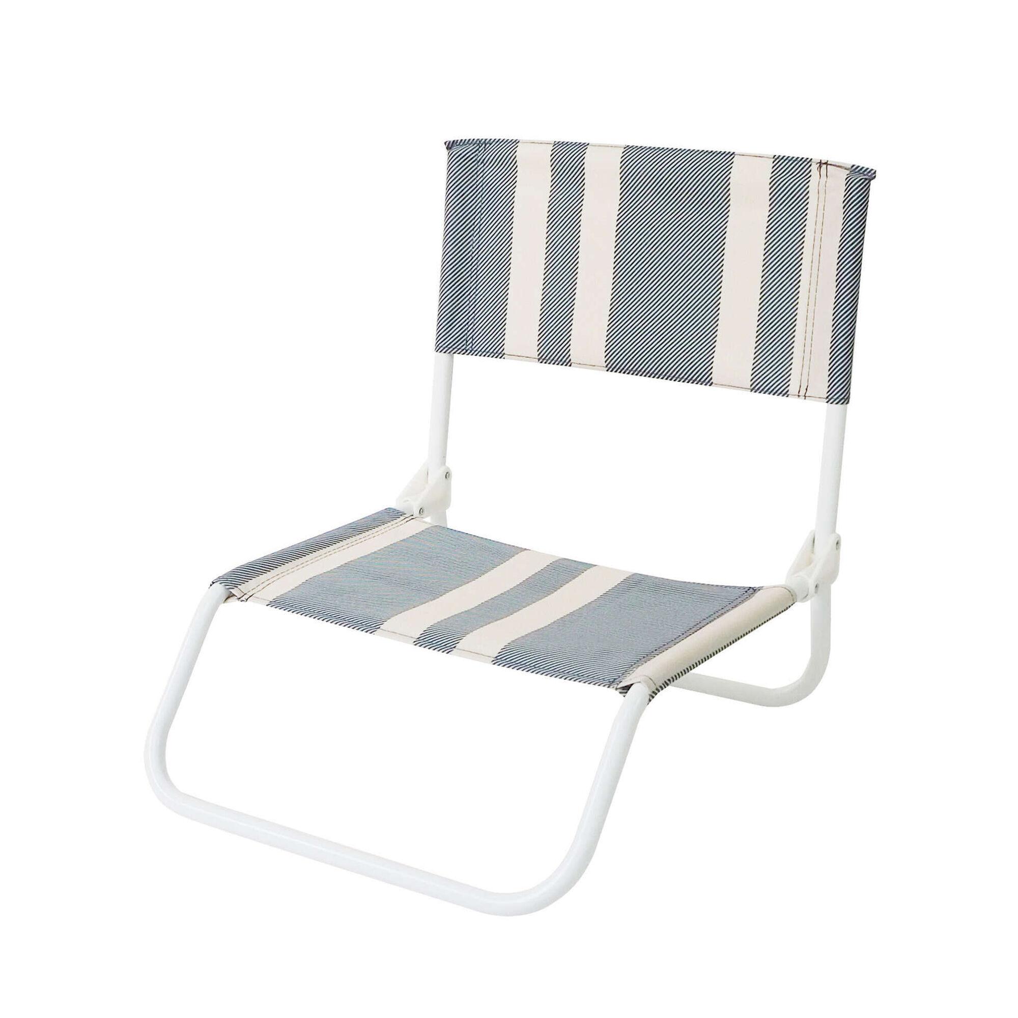 Cadeira de Praia Lona Azul Malibu