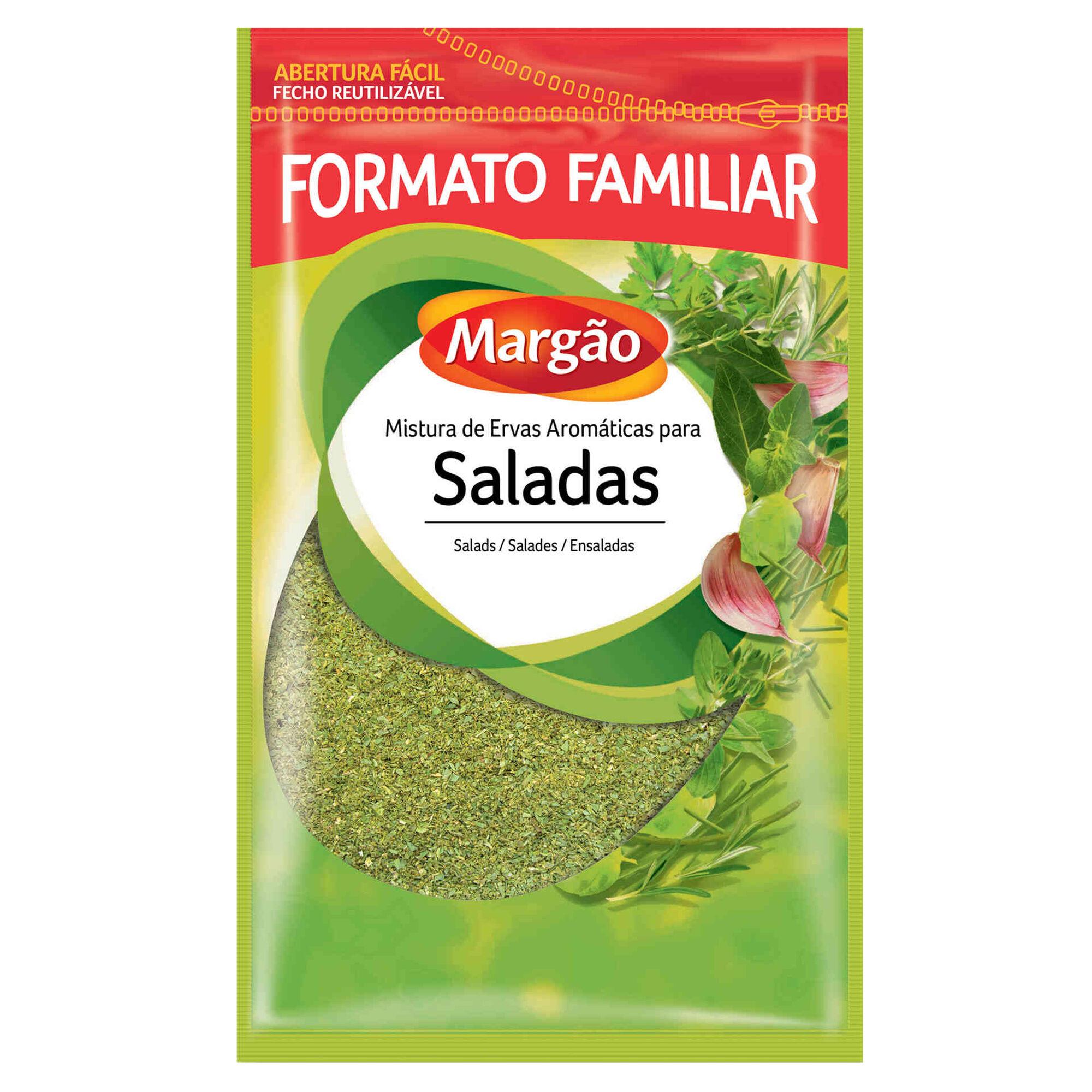 Mistura de Ervas Aromáticas para Saladas em Saqueta