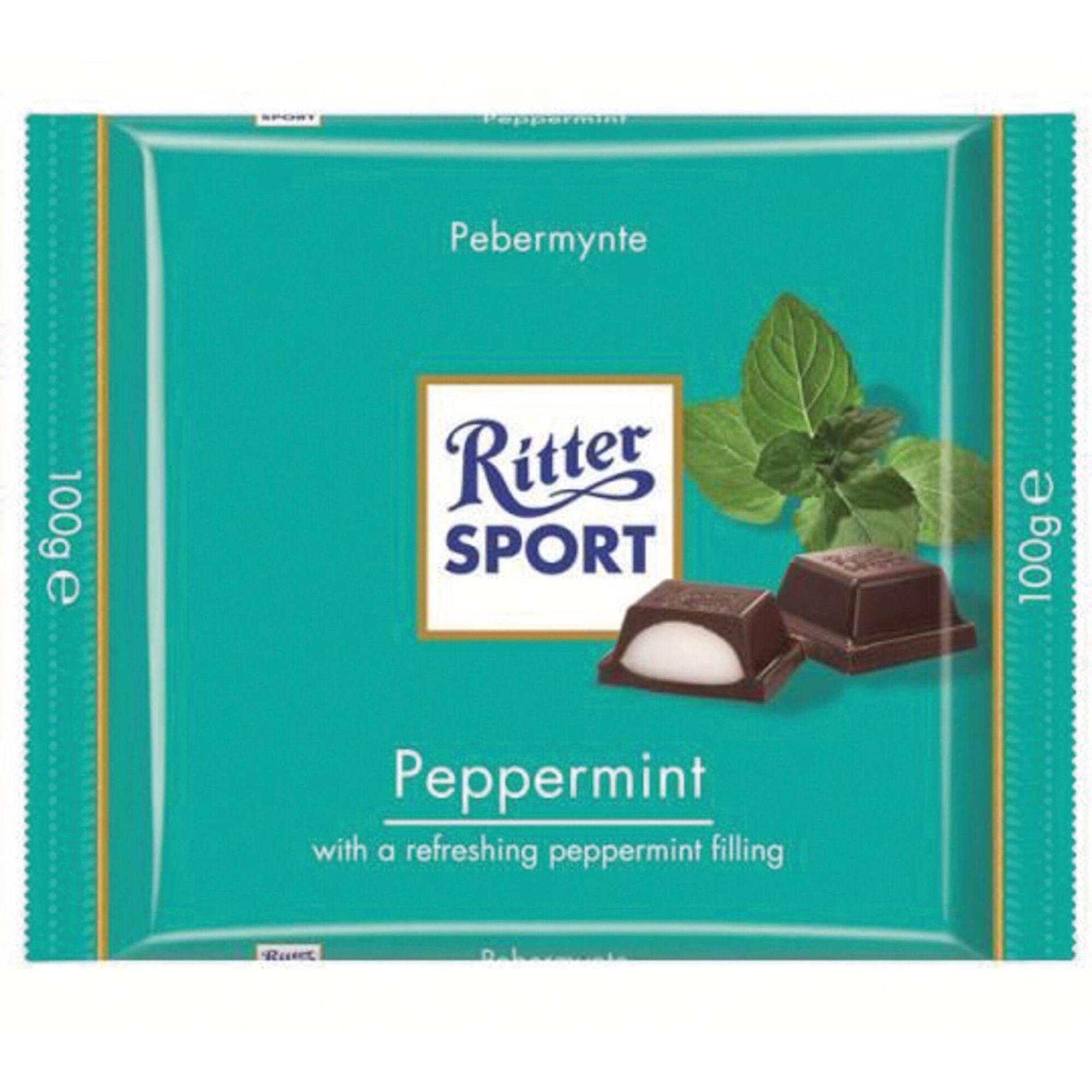 Tablete de Chocolate com Recheio de Menta