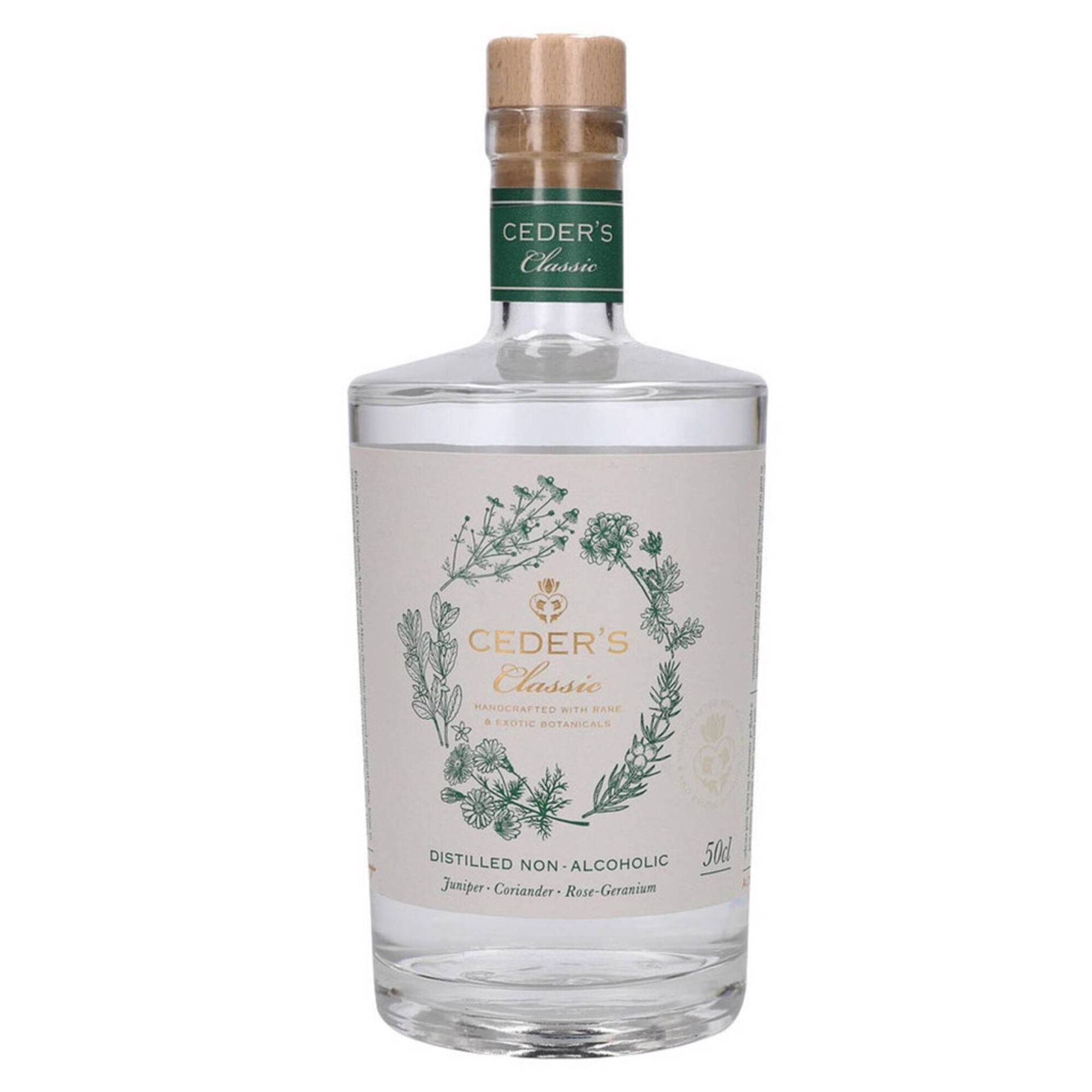 Gin Ceder's Classic Destilado sem Álcool