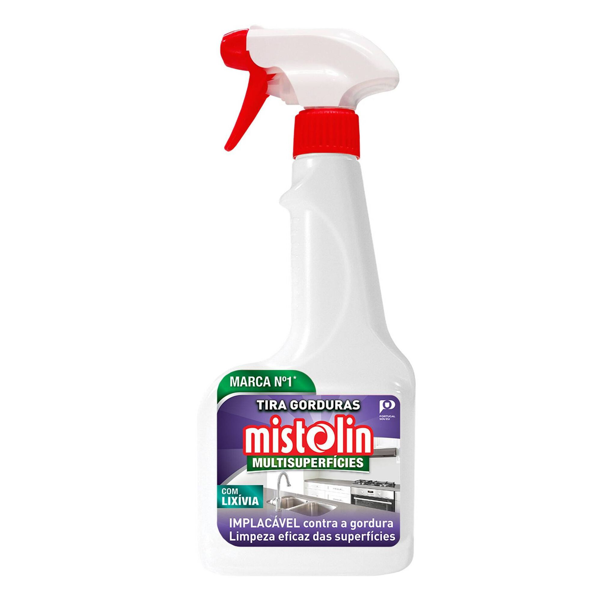 Spray Cozinha Tira Gorduras com Lixívia