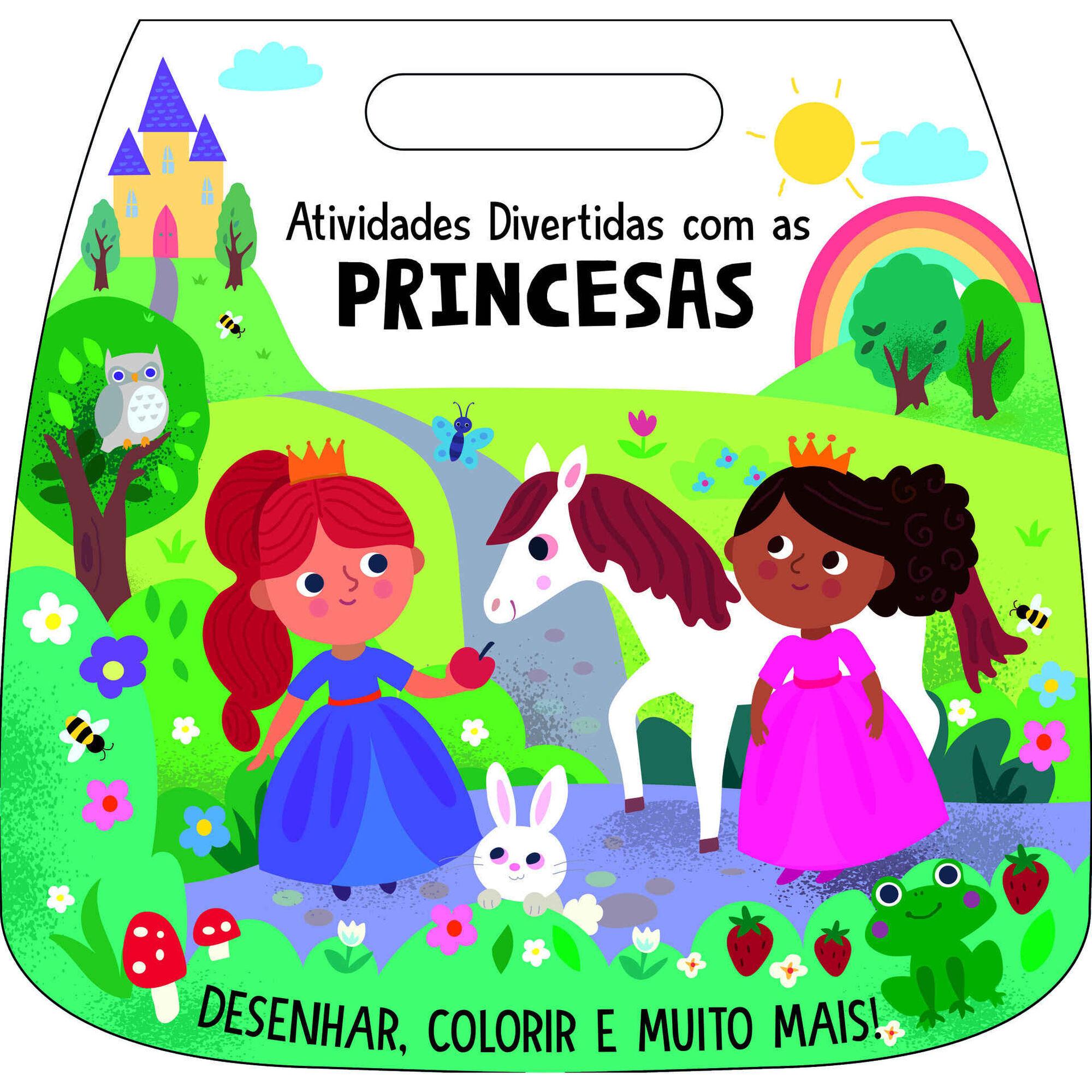 Atividades Divertidas Com as Princesas