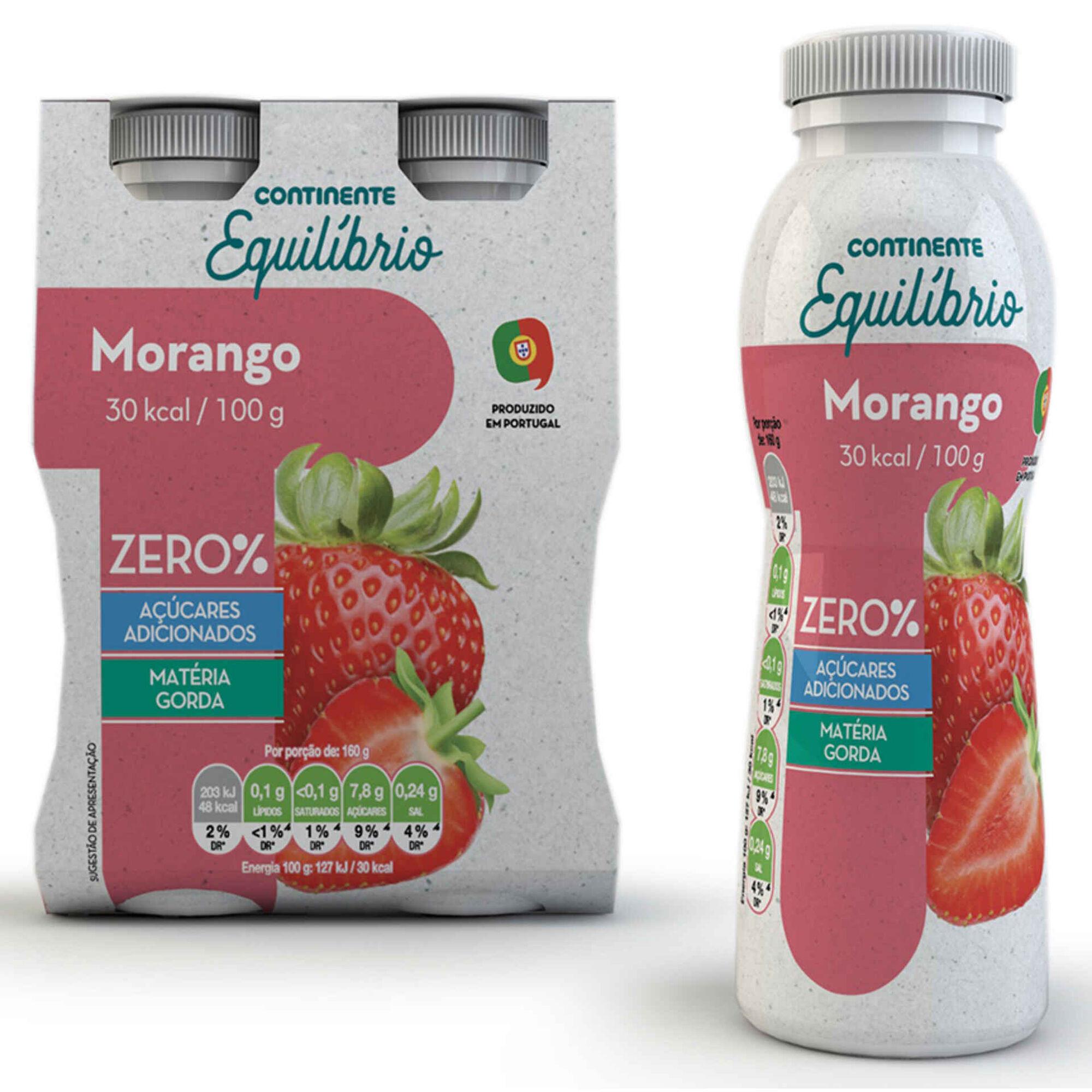 Iogurte Líquido Magro Morango