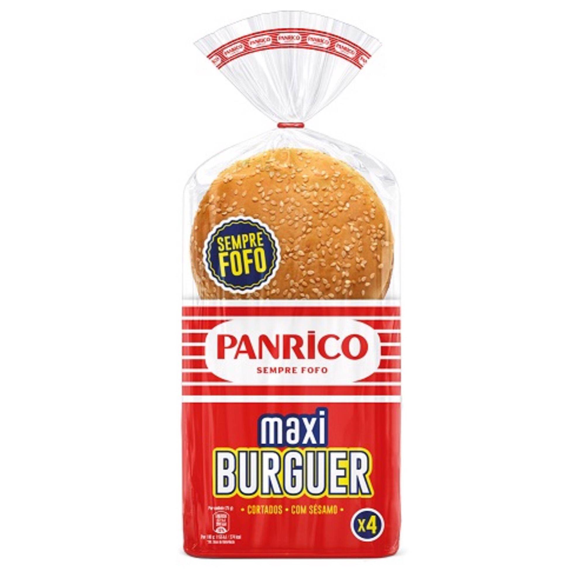 Pão de Hambúrguer Maxi