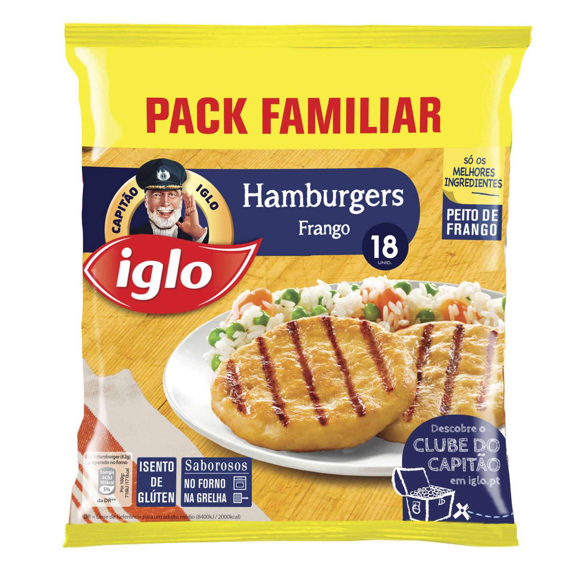 Hambúrguer de Frango Sem Glúten