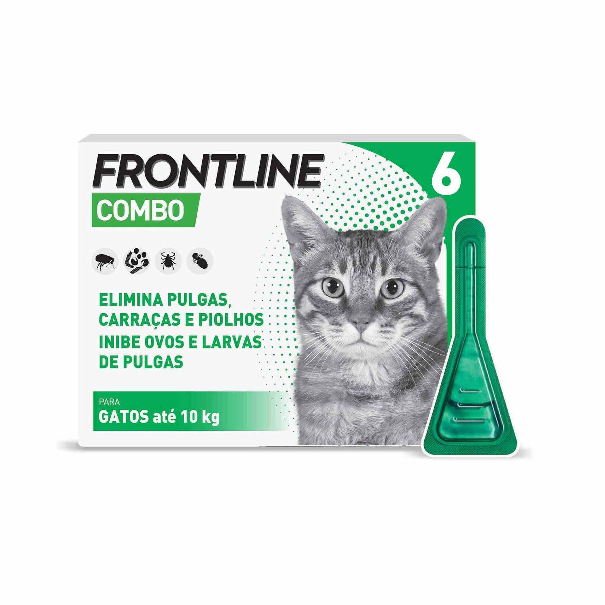 Antiparasitário Externo Pipeta para Gato Combo