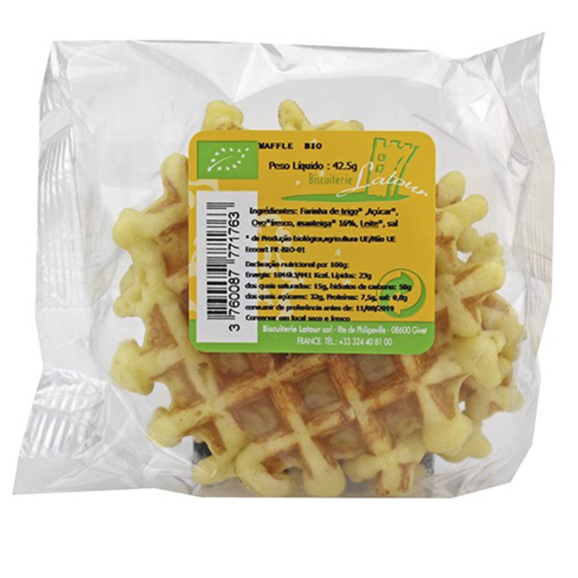 Waffles Natural Biológico