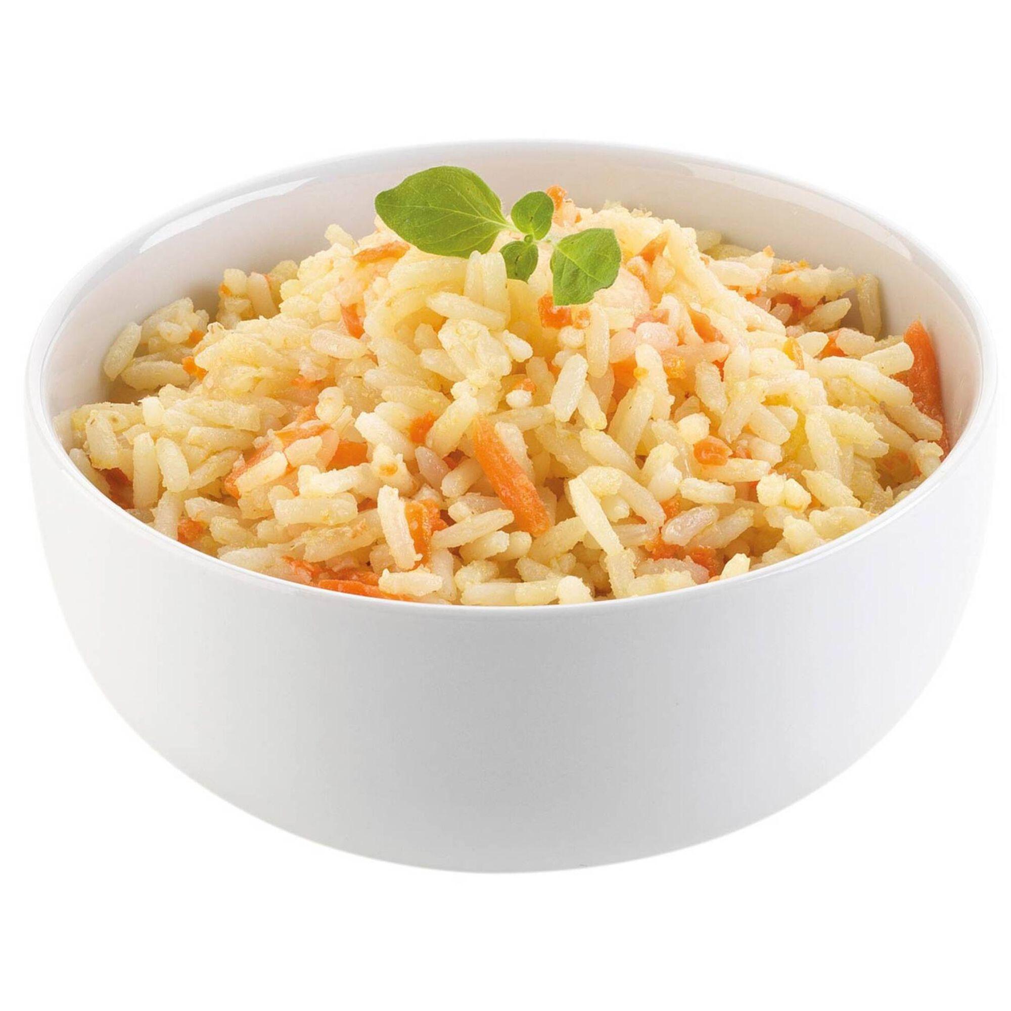 Arroz com Cenoura