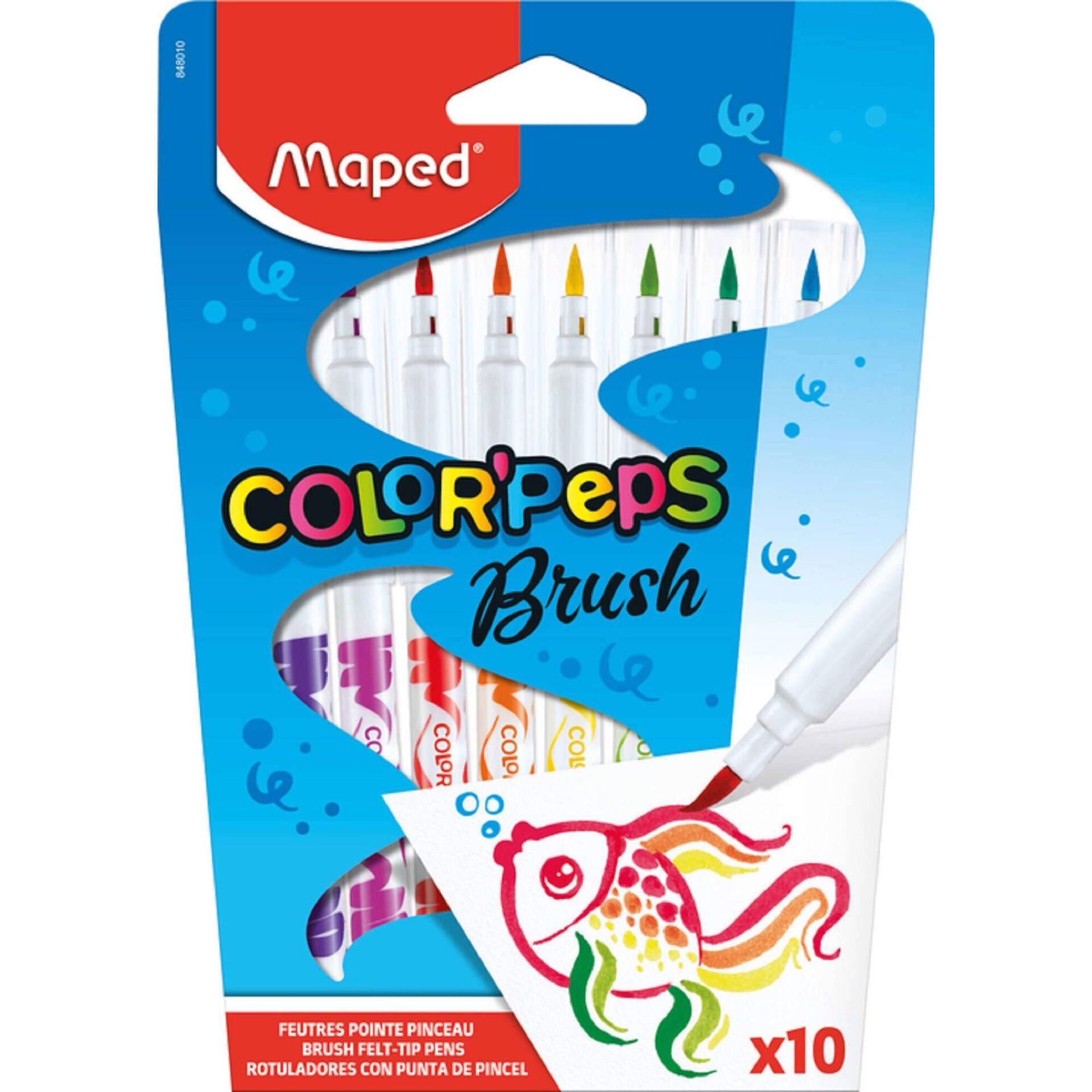 Marcadores de Colorir Color'Peps Brush