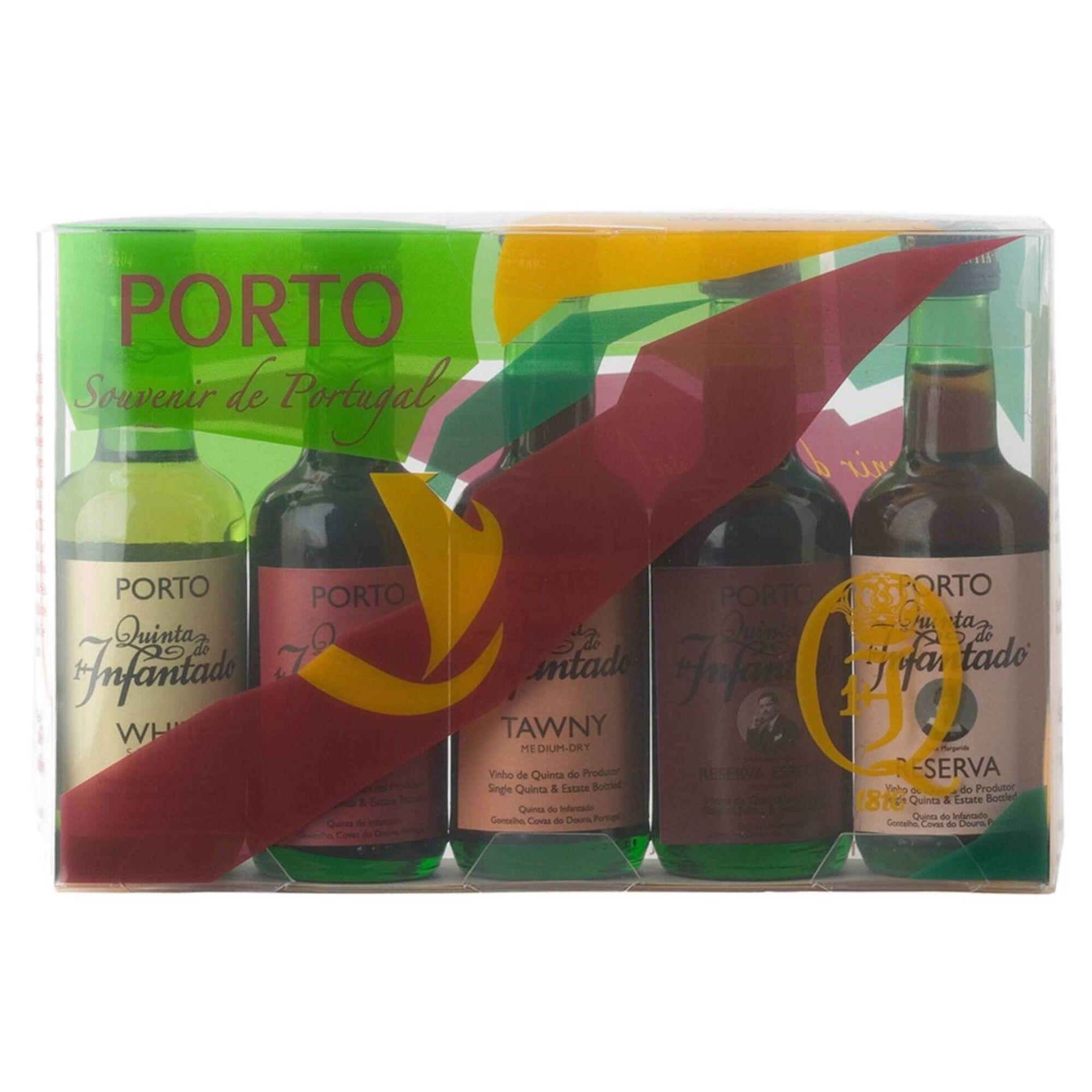 Quinta do Infantado Vinho do Porto Conjunto 5 Miniaturas