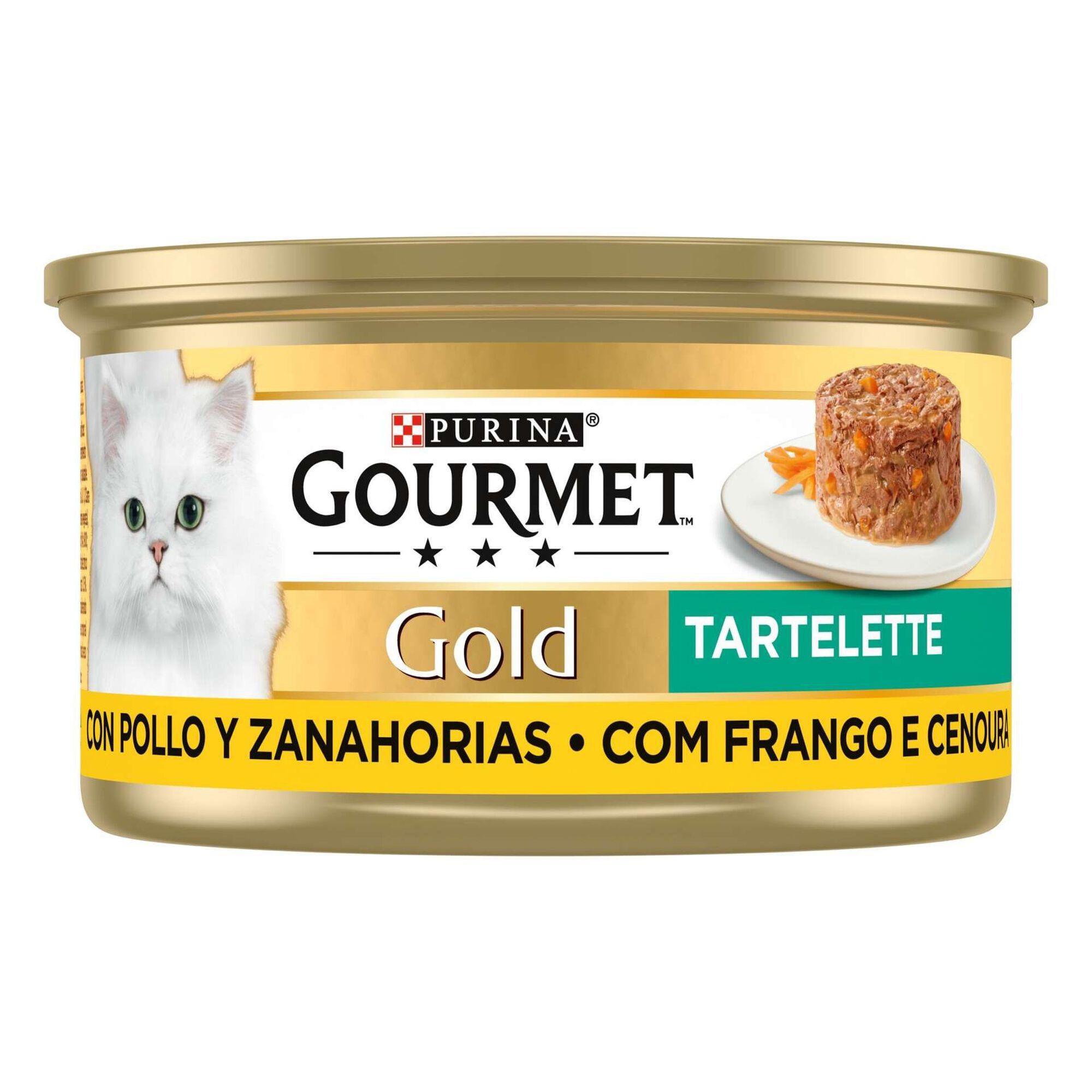 Comida Húmida para Gato Adulto Tartelette Frango e Cenoura Lata
