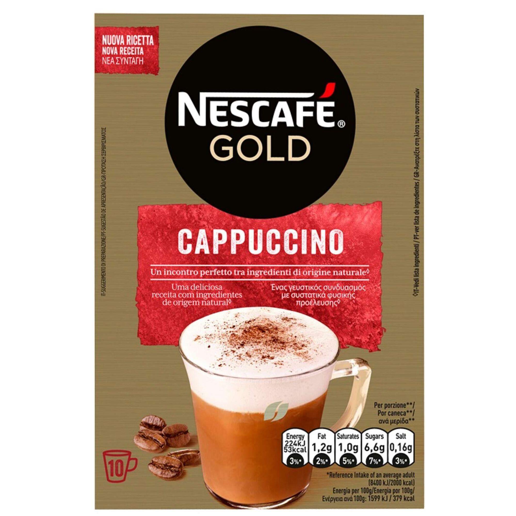Café Solúvel Gold Cappuccino