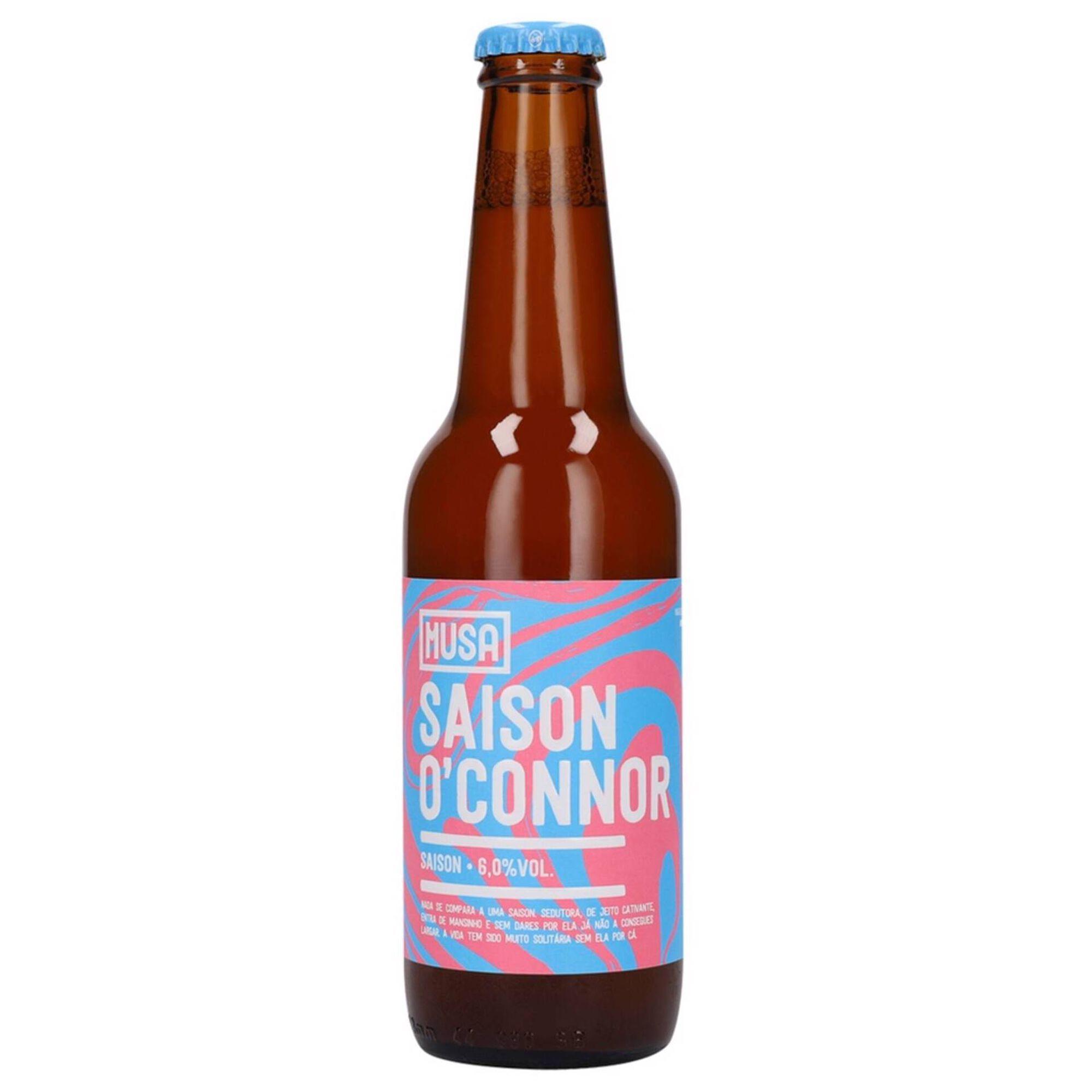 Cerveja com Álcool Saison O'Connor Garrafa
