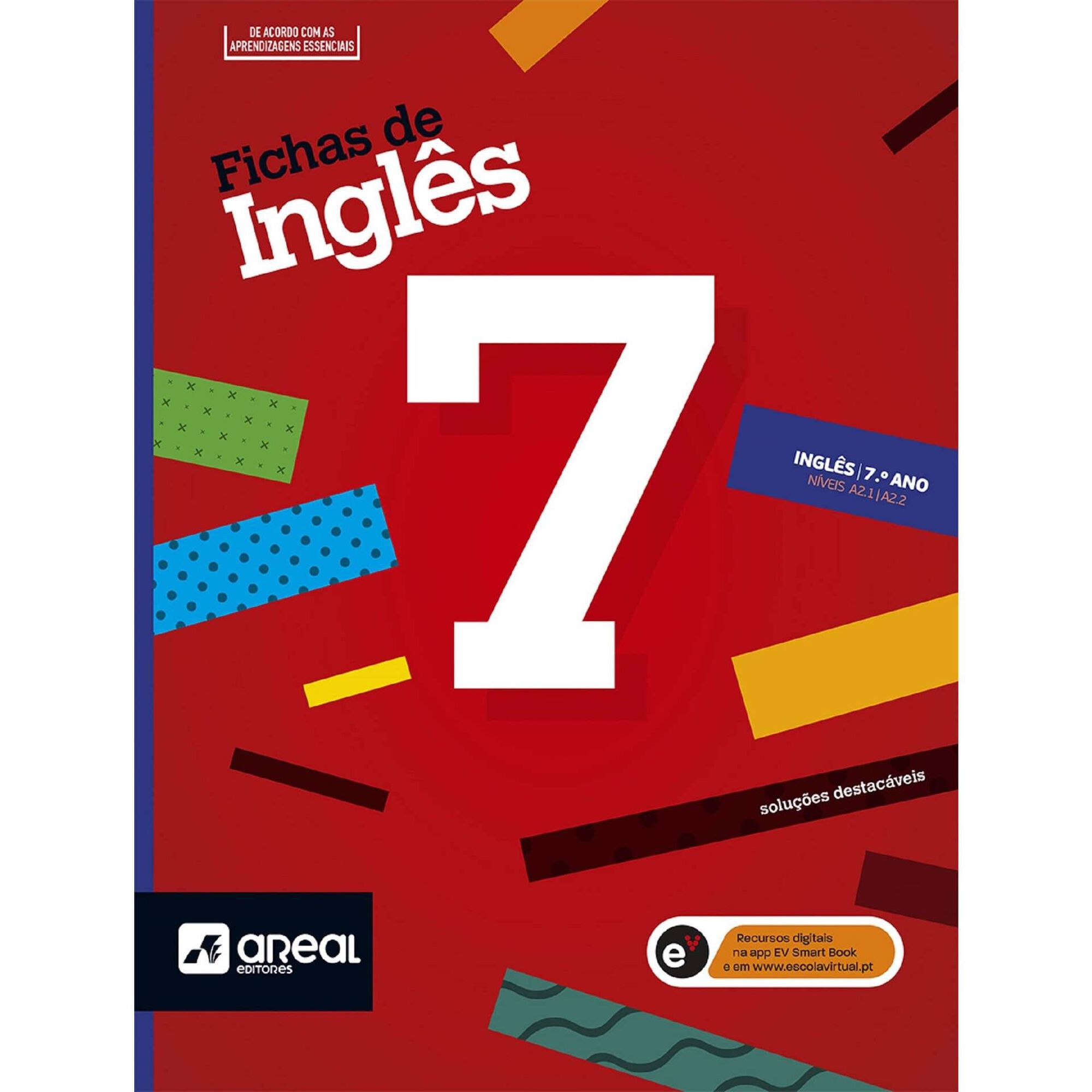 Fichas de Inglês - Níveis A2.1/A2.2 - 7º Ano