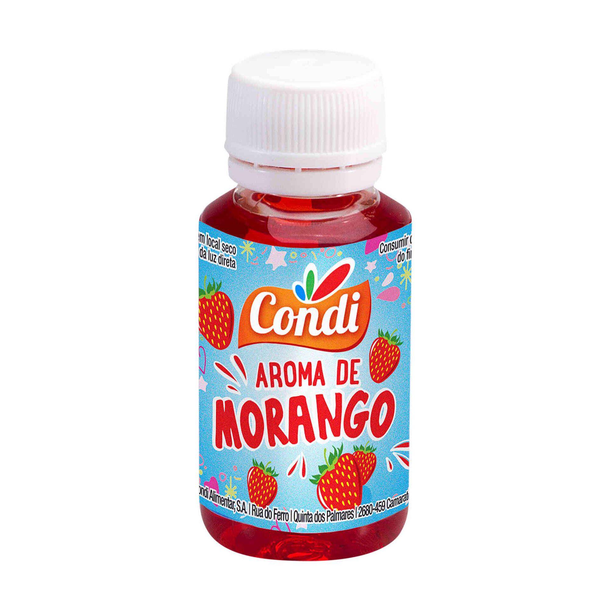 Aroma de Morango Líquido
