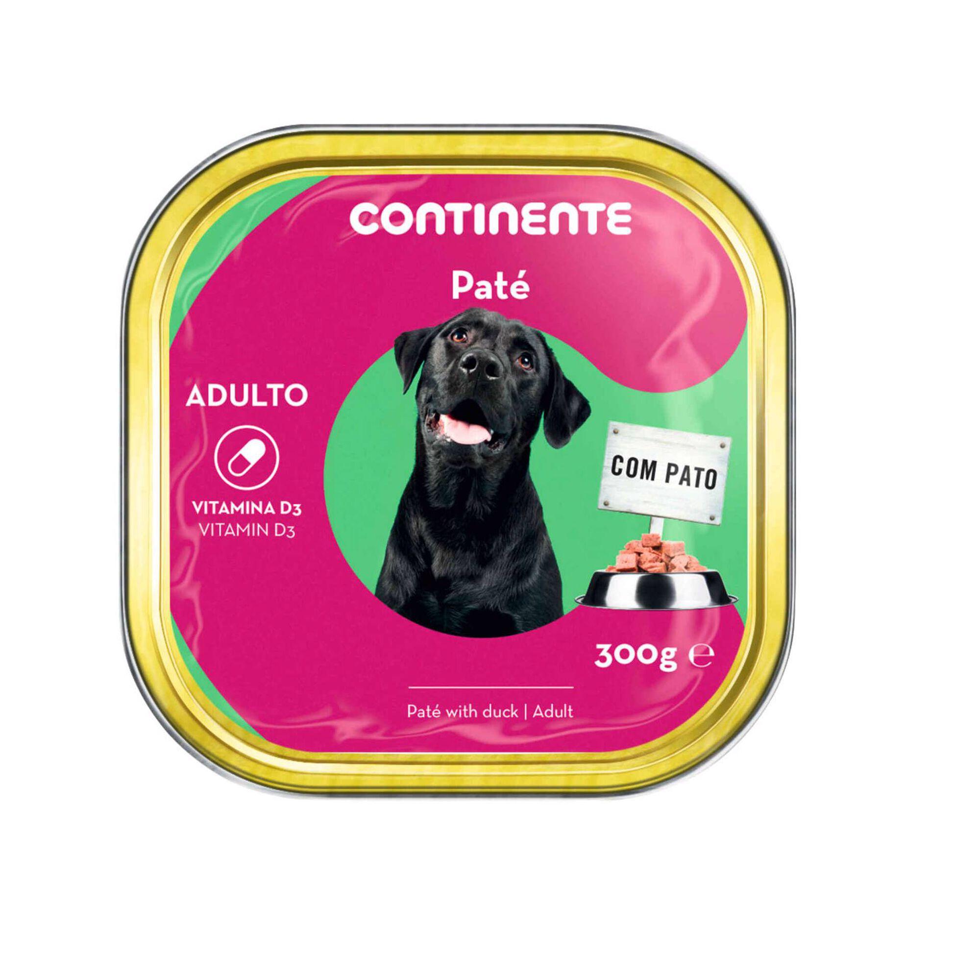 Comida Húmida para Cão Adulto Patê Pato Terrina