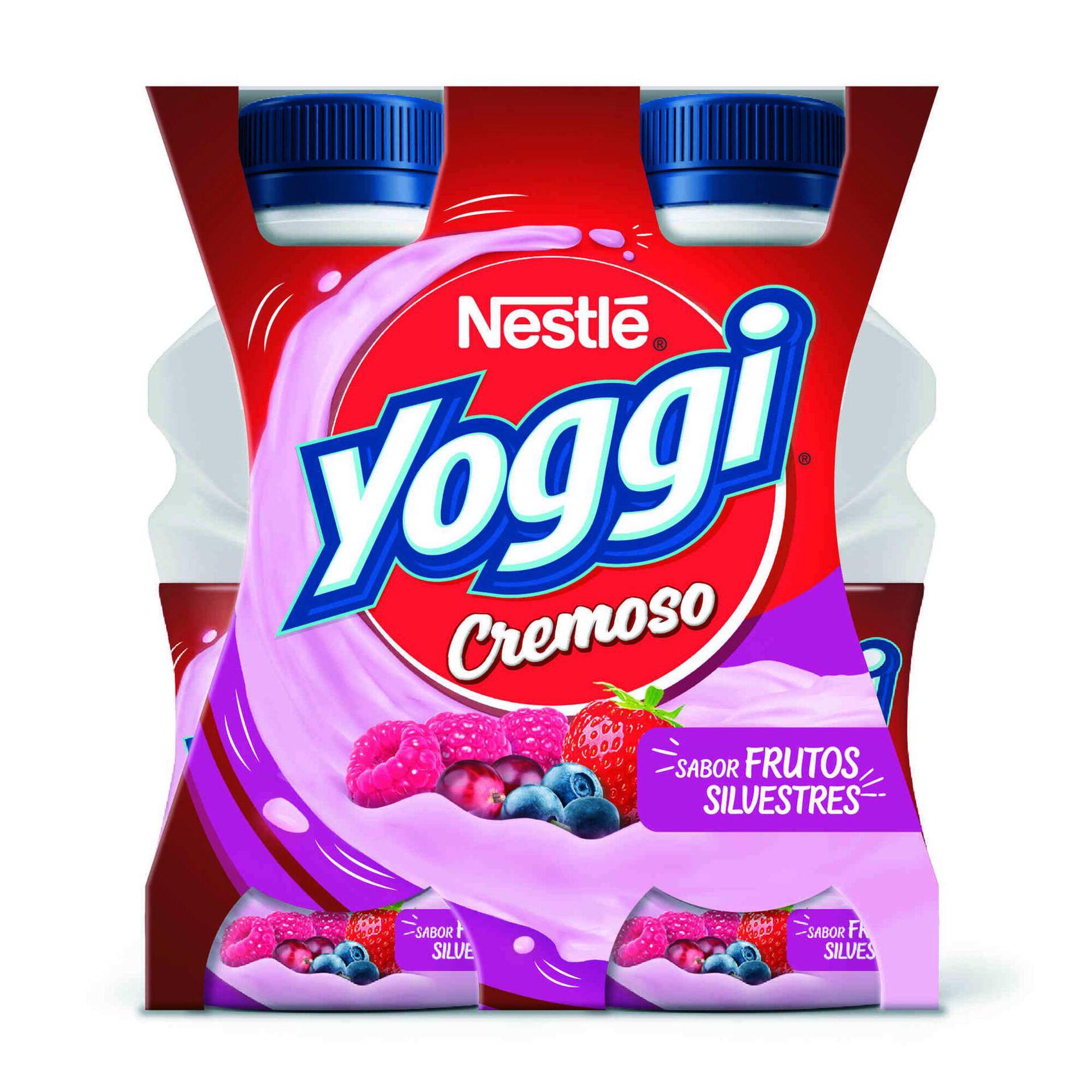 Iogurte Líquido Cremoso Frutos Silvestres