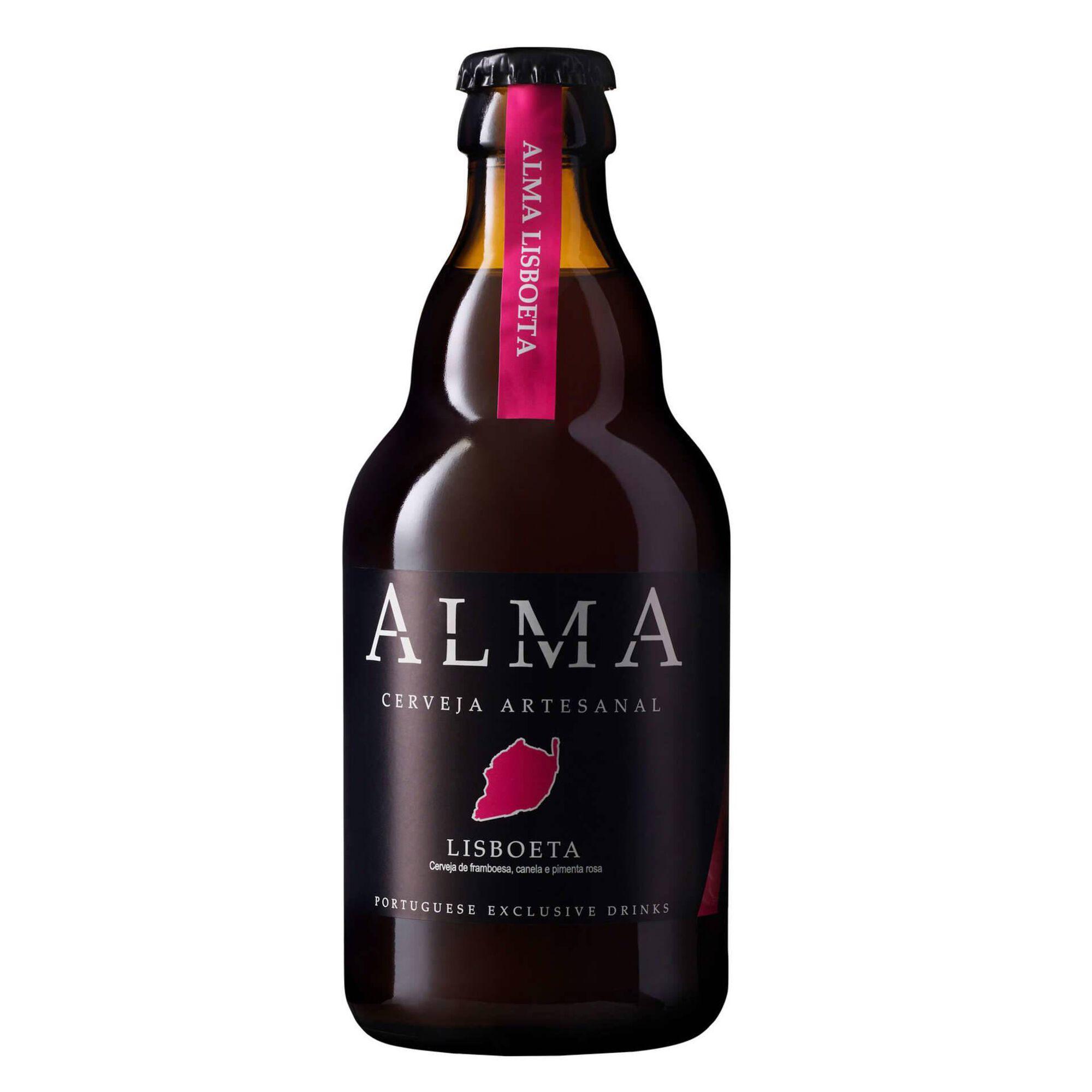 Cerveja com Álcool Alma Lisboeta Garrafa