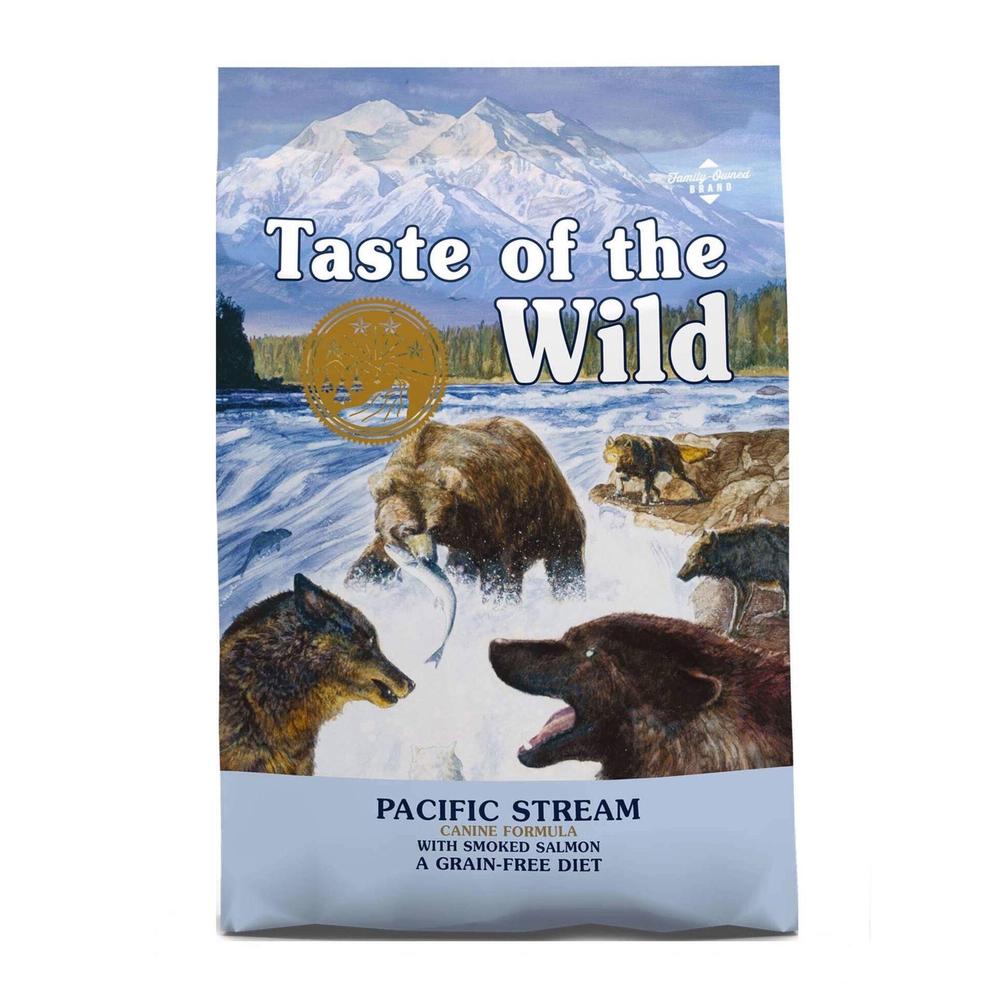 Ração para Cão Pacific Stream Grain Free Salmão Fumado